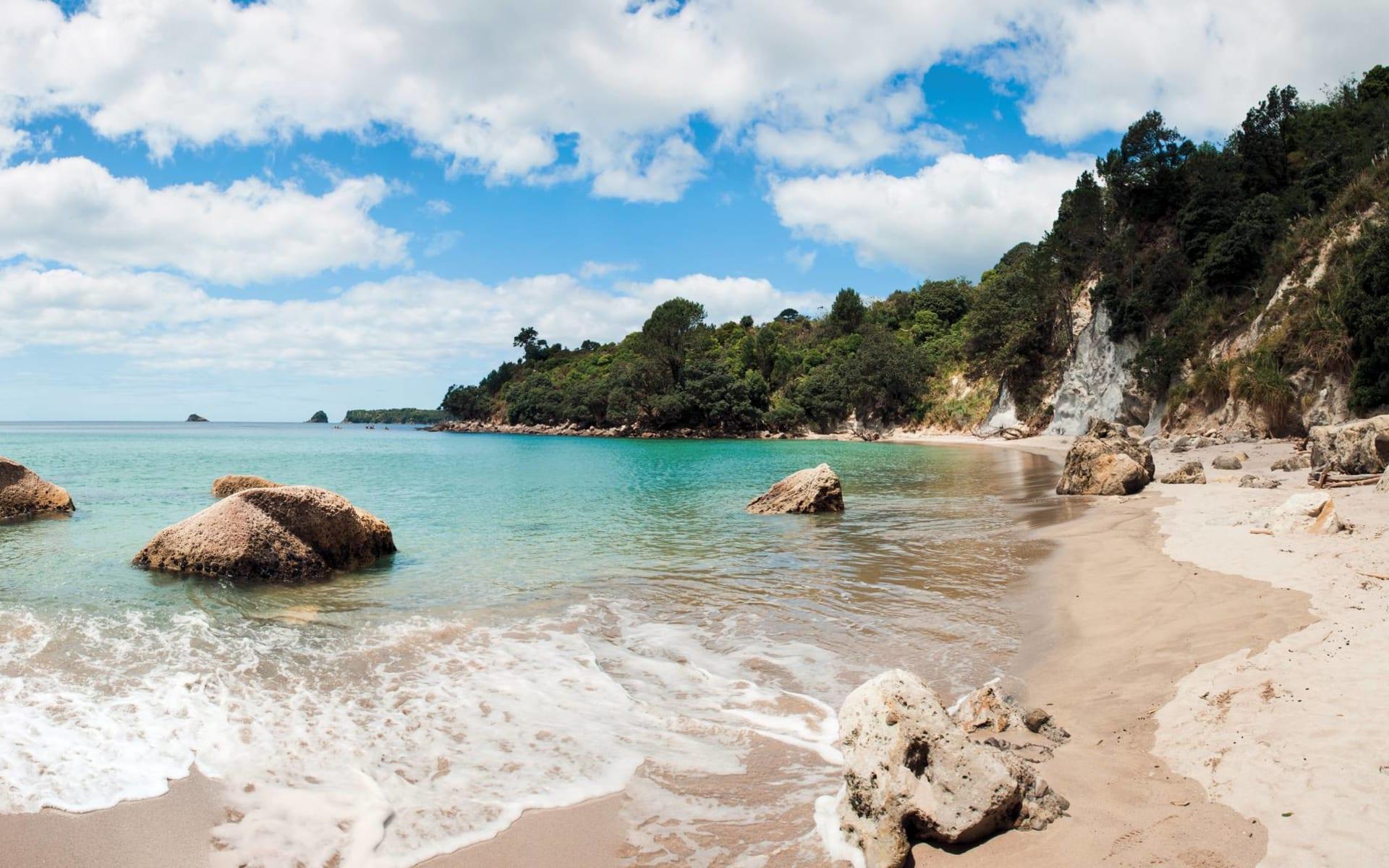 Höhepunkte der Nordinsel (AAT Kings) ab Auckland: Coromandel Peninsula - Strand