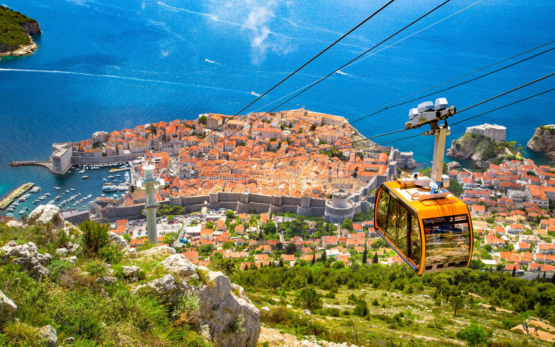 Badeferien im Sun Gardens Dubrovnik: Dubrovnik_Seilbahn_