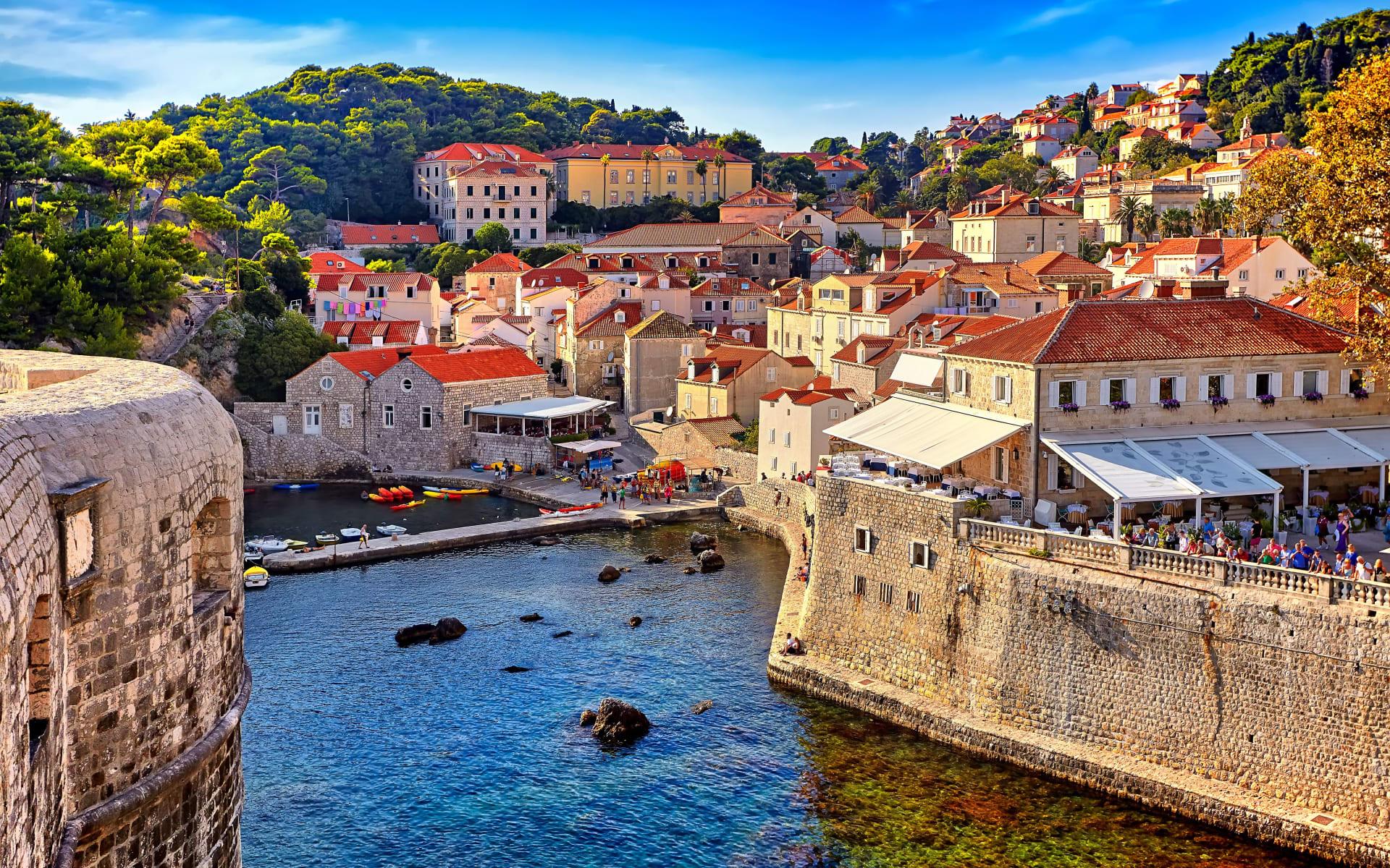 Badeferien im Sun Gardens Dubrovnik: Dubrovnik_Stadt_