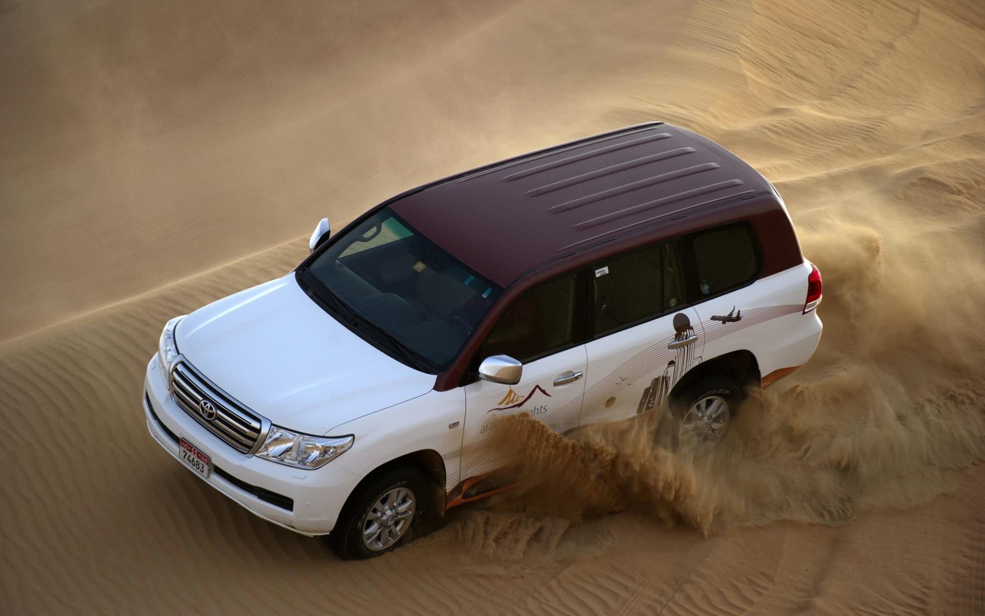 Arabian Nights Village in Al Khatim Wüste: Dune bashing