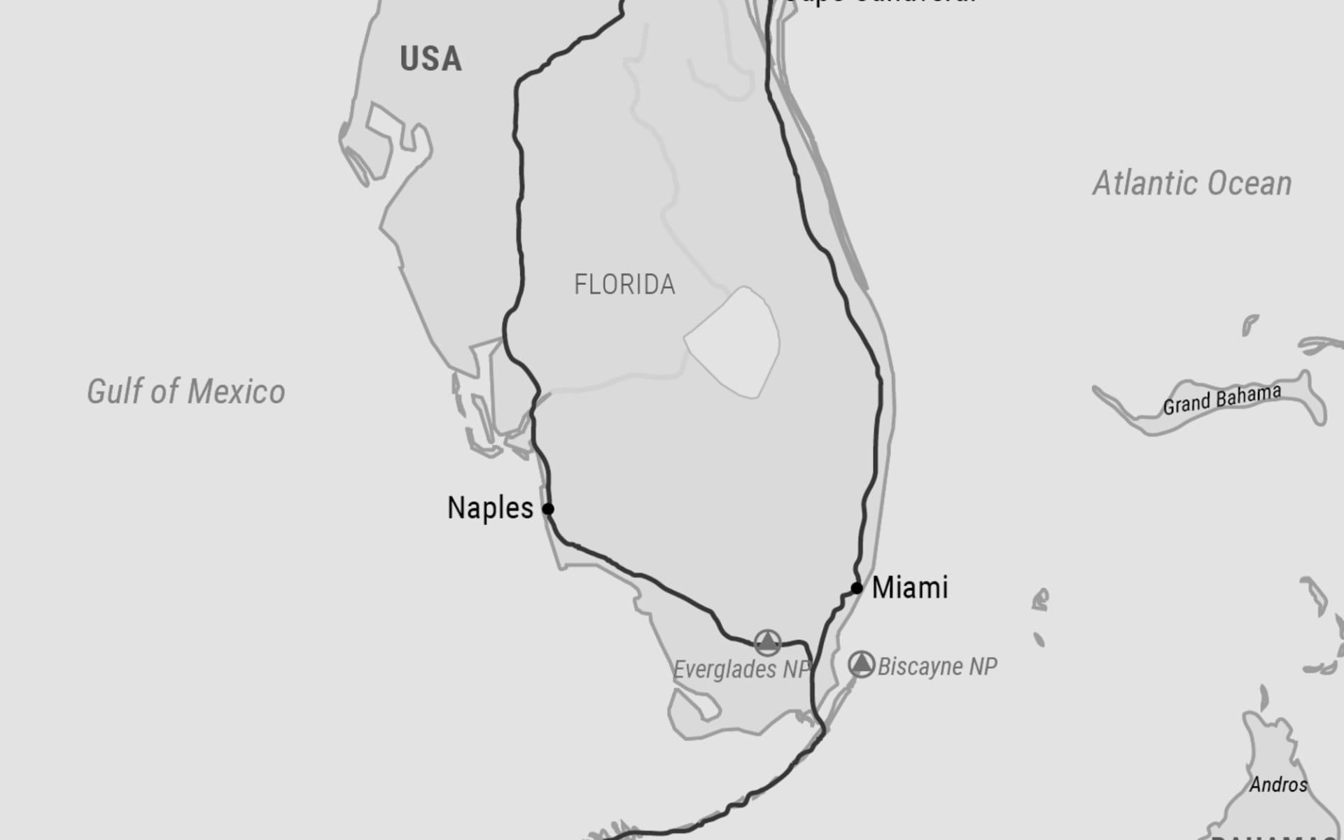 Florida tage rundreise bus 10 USA Rundreise