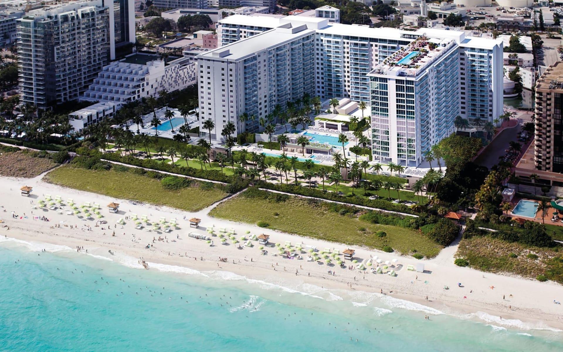 1 Hotel South Beach in Miami Beach: Aussenansicht