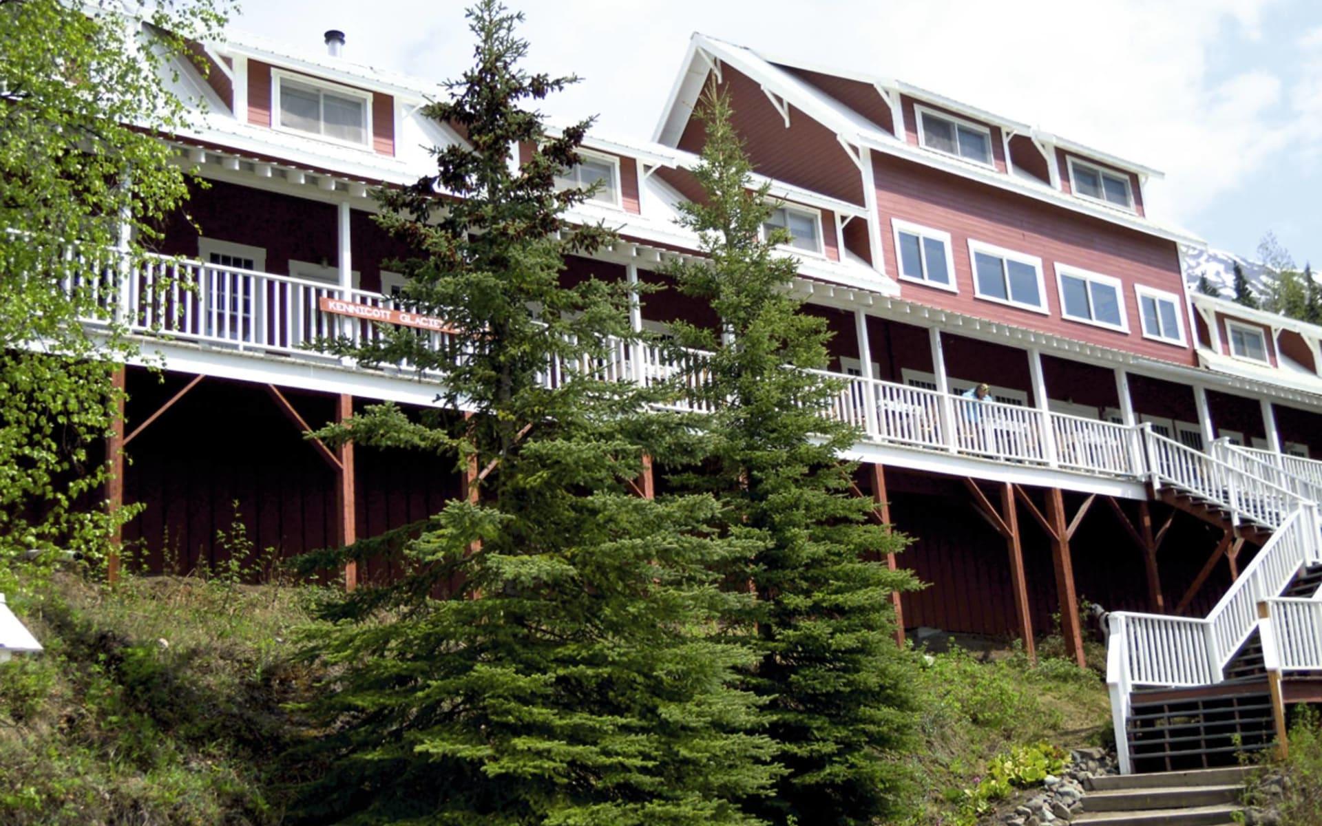 Kennicott Glacier Lodge in Wrangell-St. Elias National Park:  2012_082_02_Kennicott Glacier Lodge