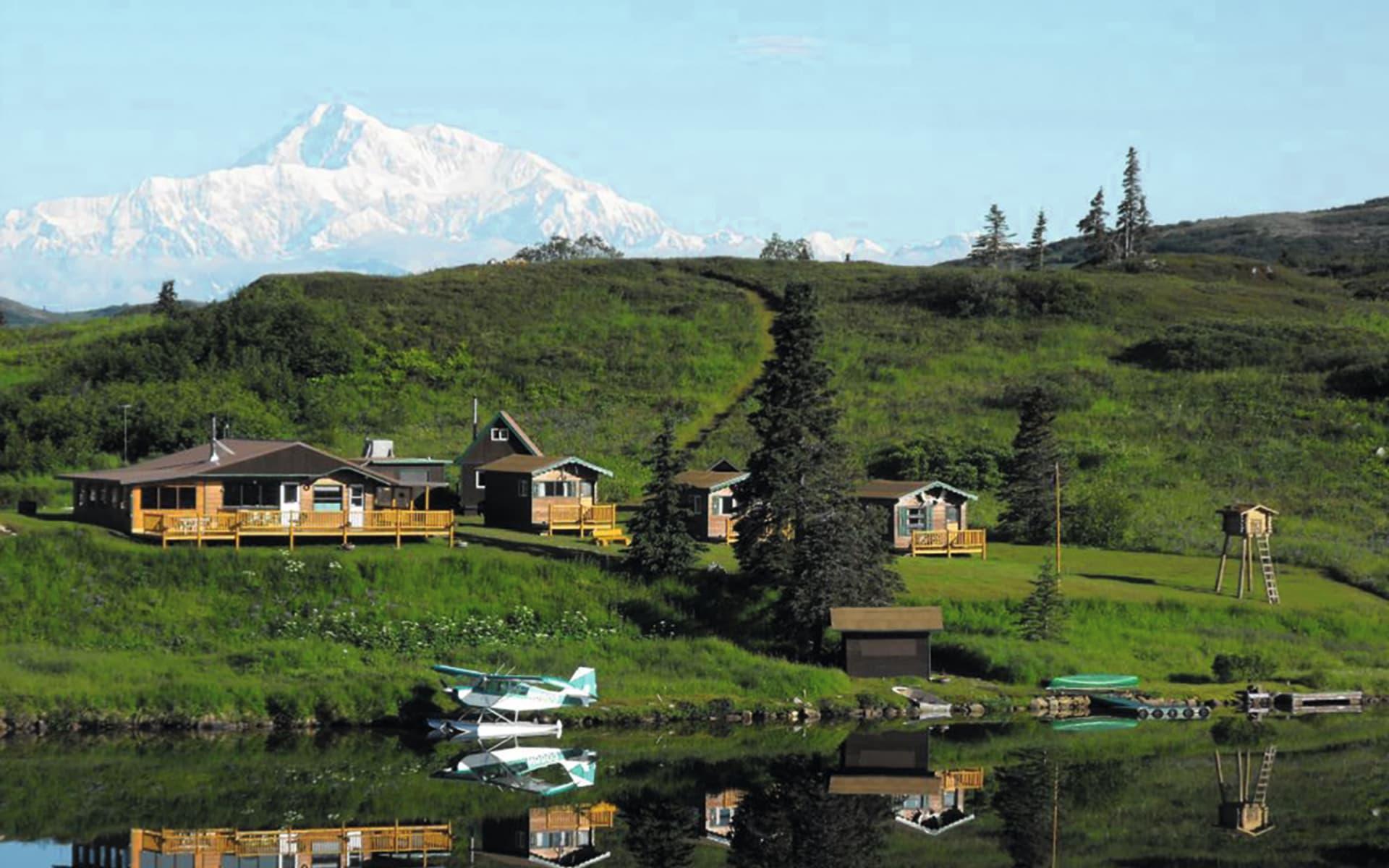 Caribou Lodge Alaska in Talkeetna:  2014_078_4_Caribou Lodge