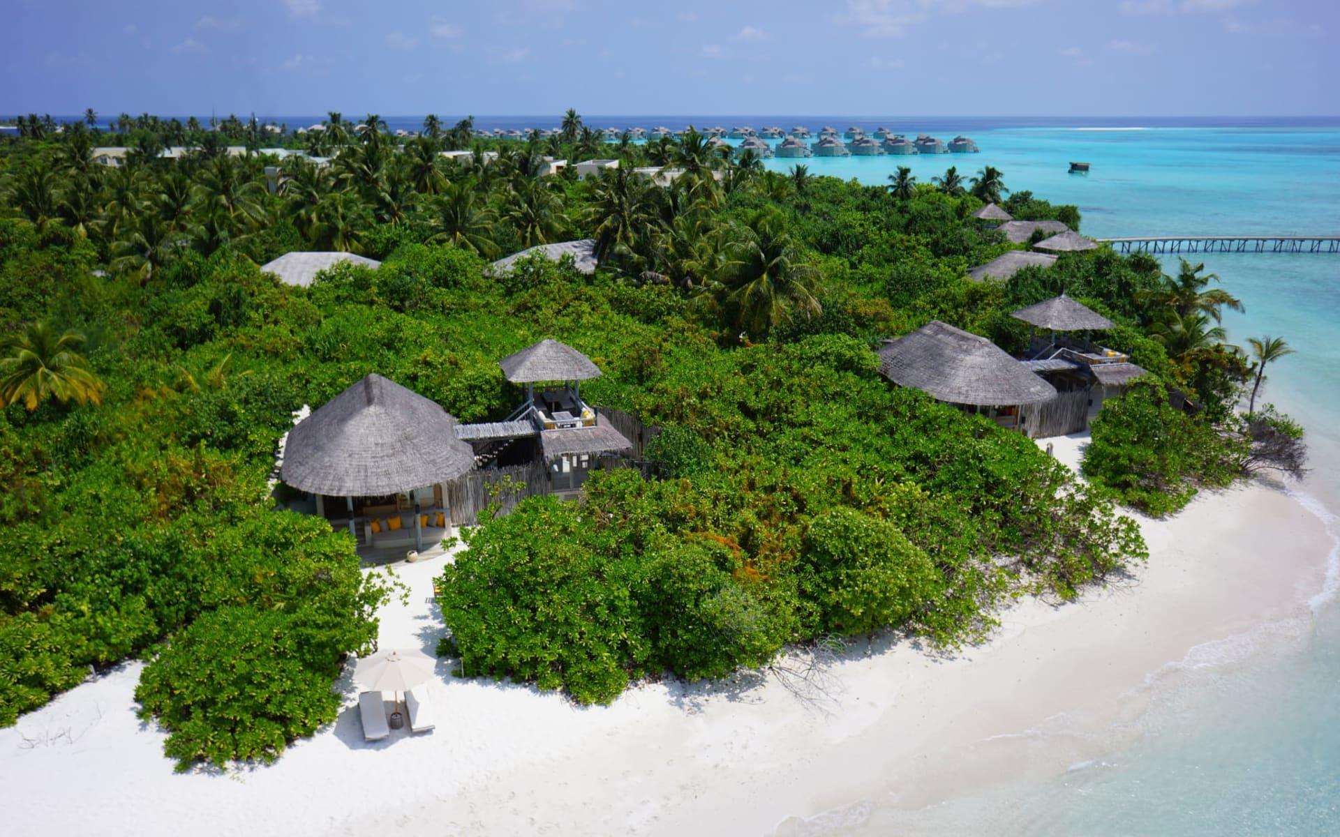 Six Senses Laamu in Laamu-Atoll: