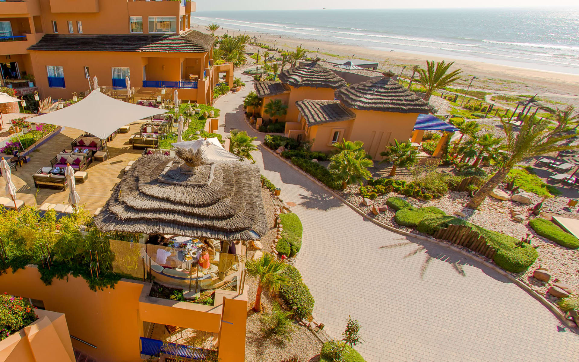 Paradis Plage Resort in Taghazout Bay: