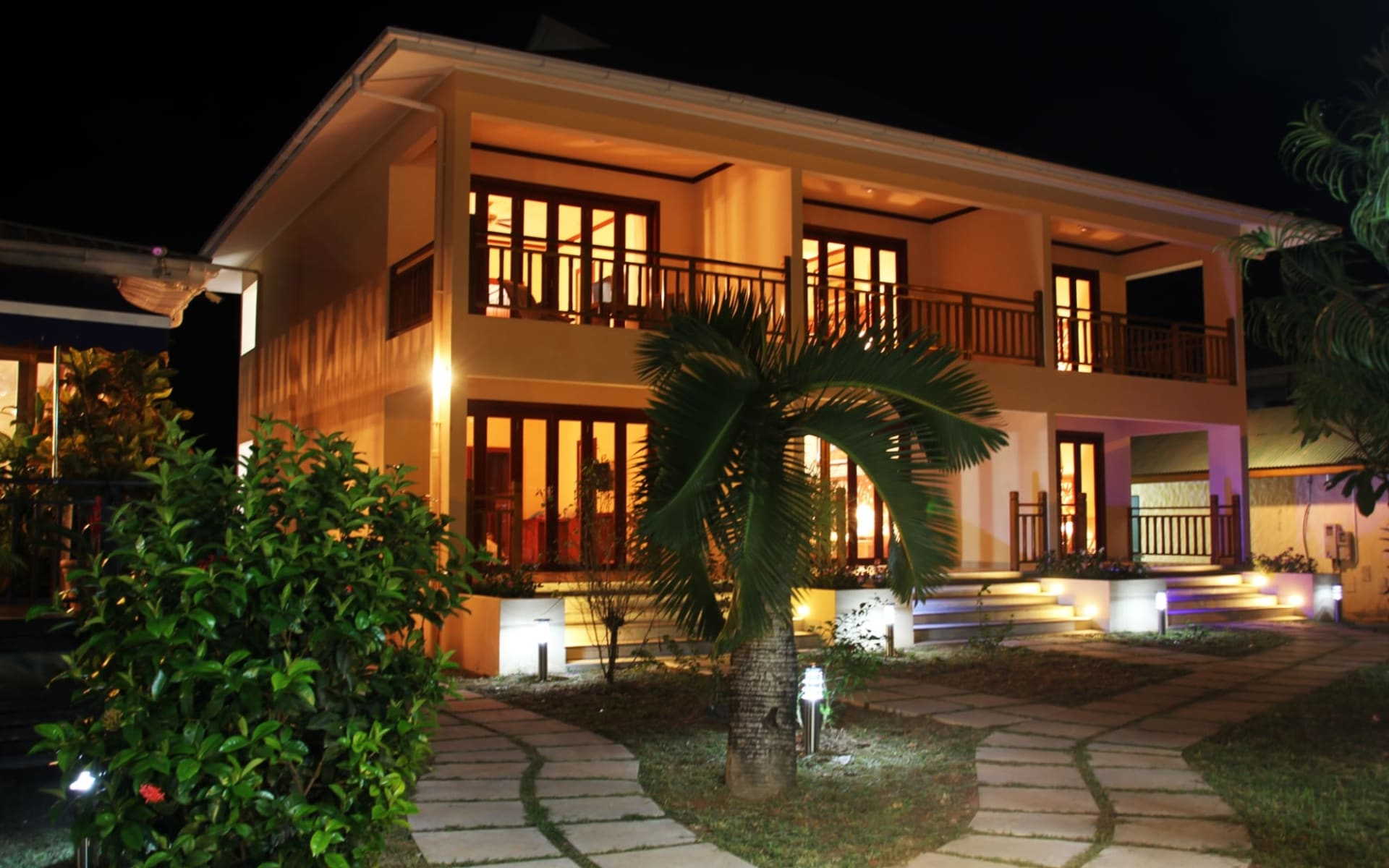 Pirogue Lodge in Praslin: