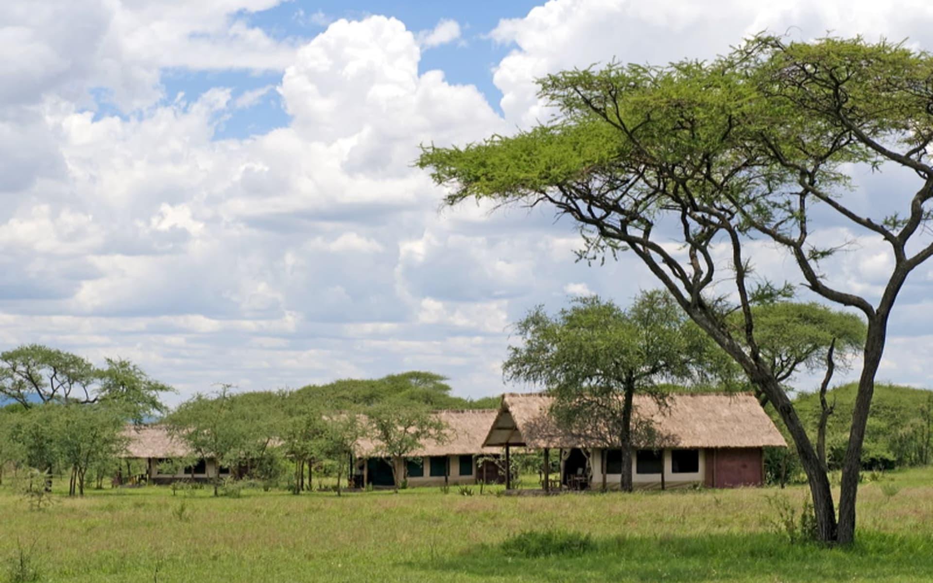 Ikoma Tented Camp in Serengeti: