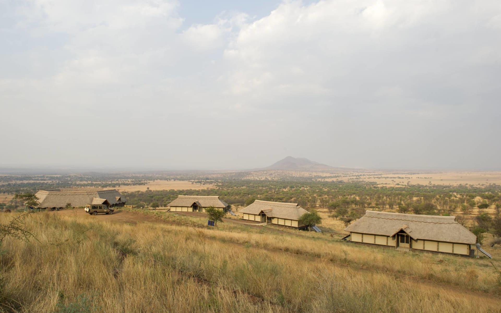 Kubu Kubu Tented Camp in Serengeti: