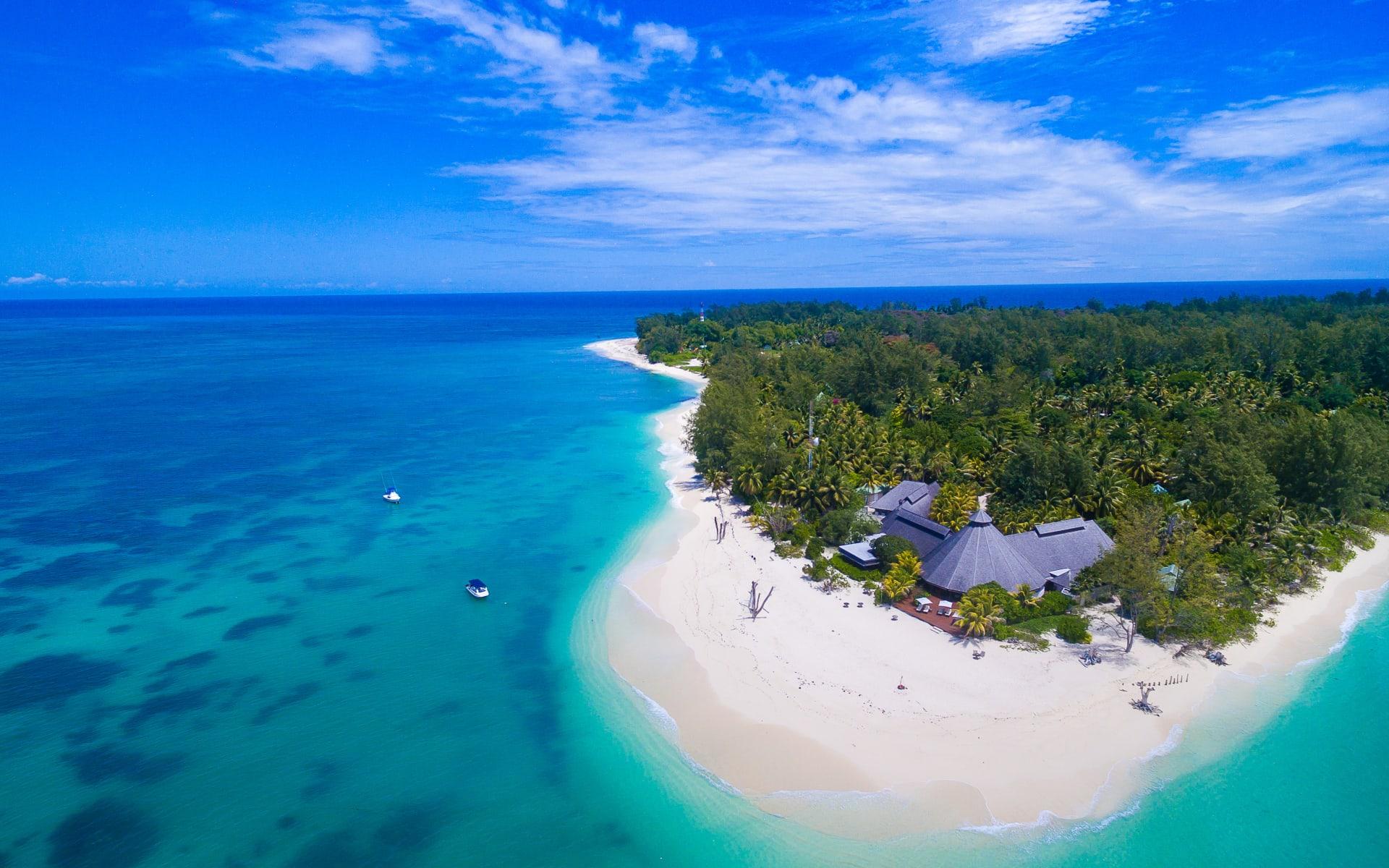 Denis Private Island in Denis Island: