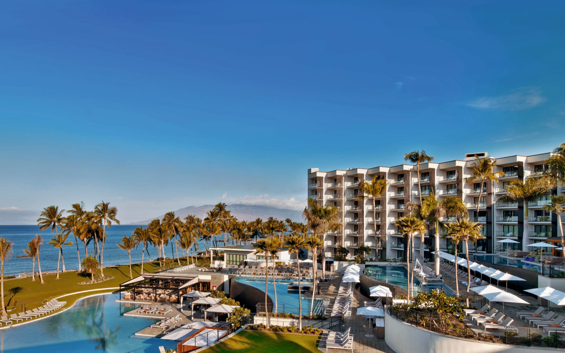 Andaz Maui at Wailea Resort in Wailea - Maui: exterior andaz wailea poolbereich garten hotelgebäude