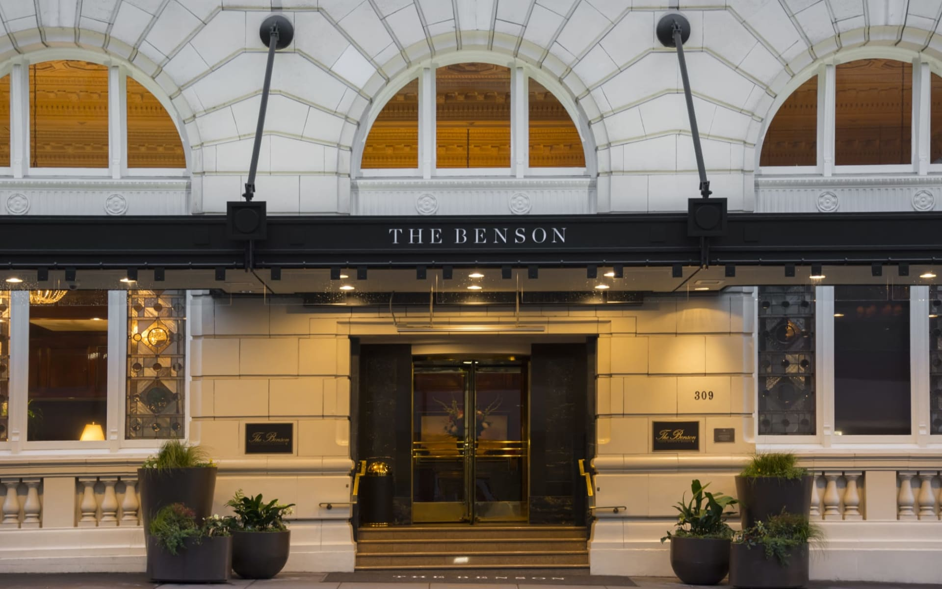 The Benson Hotel in Portland:  Benson 1A