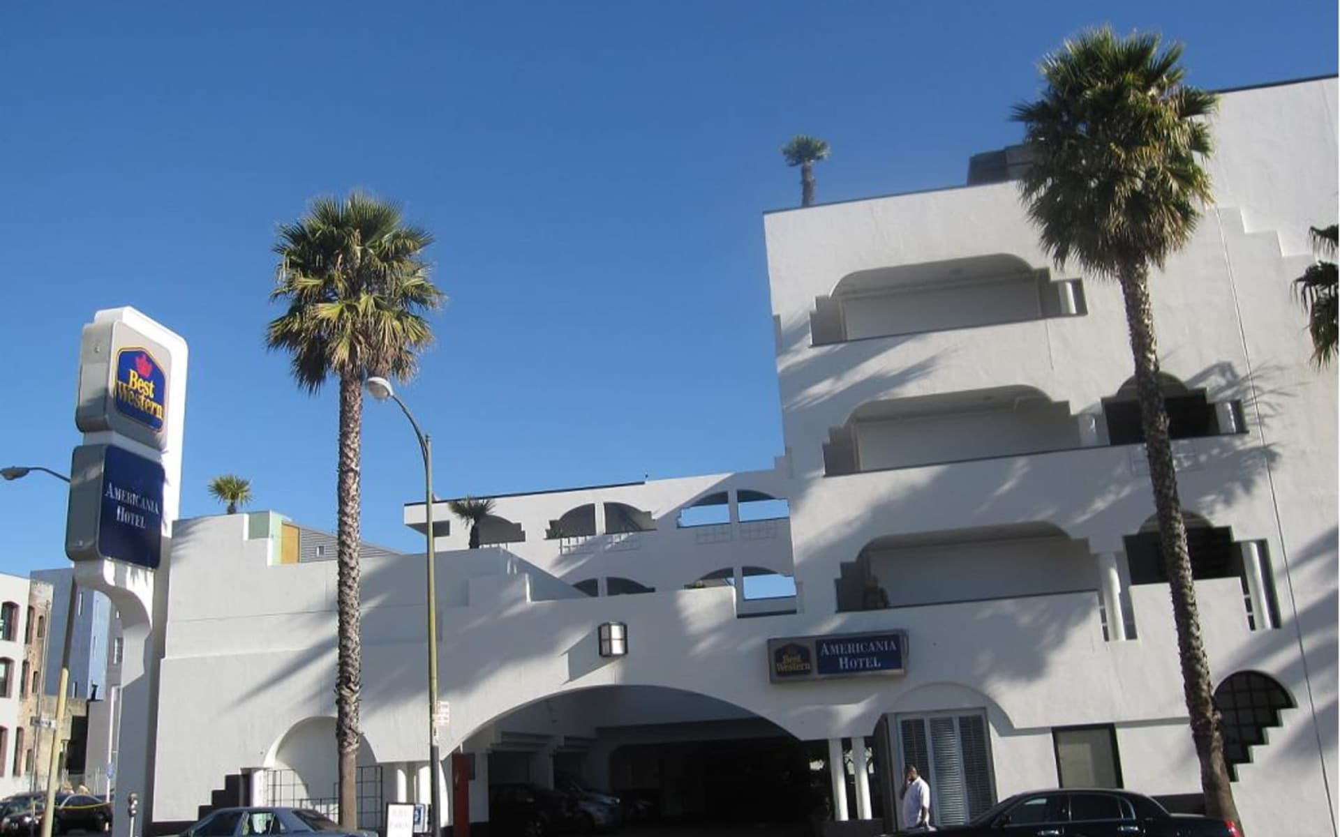 Americania Hotel in San Francisco:  Best Western Americania_Aussenansicht_ATI