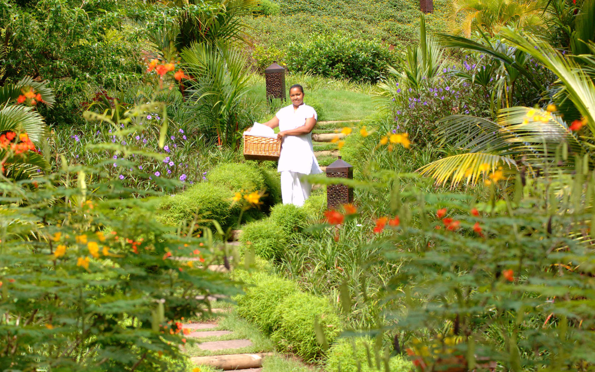 Lakaz Chamarel Exclusive Lodge:  Botanical Garden