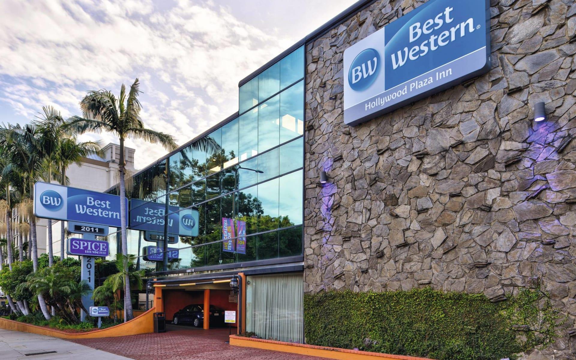 Best Western Hollywood Plaza Inn:  BW Hollywood Plaza Inn - Aussenansicht