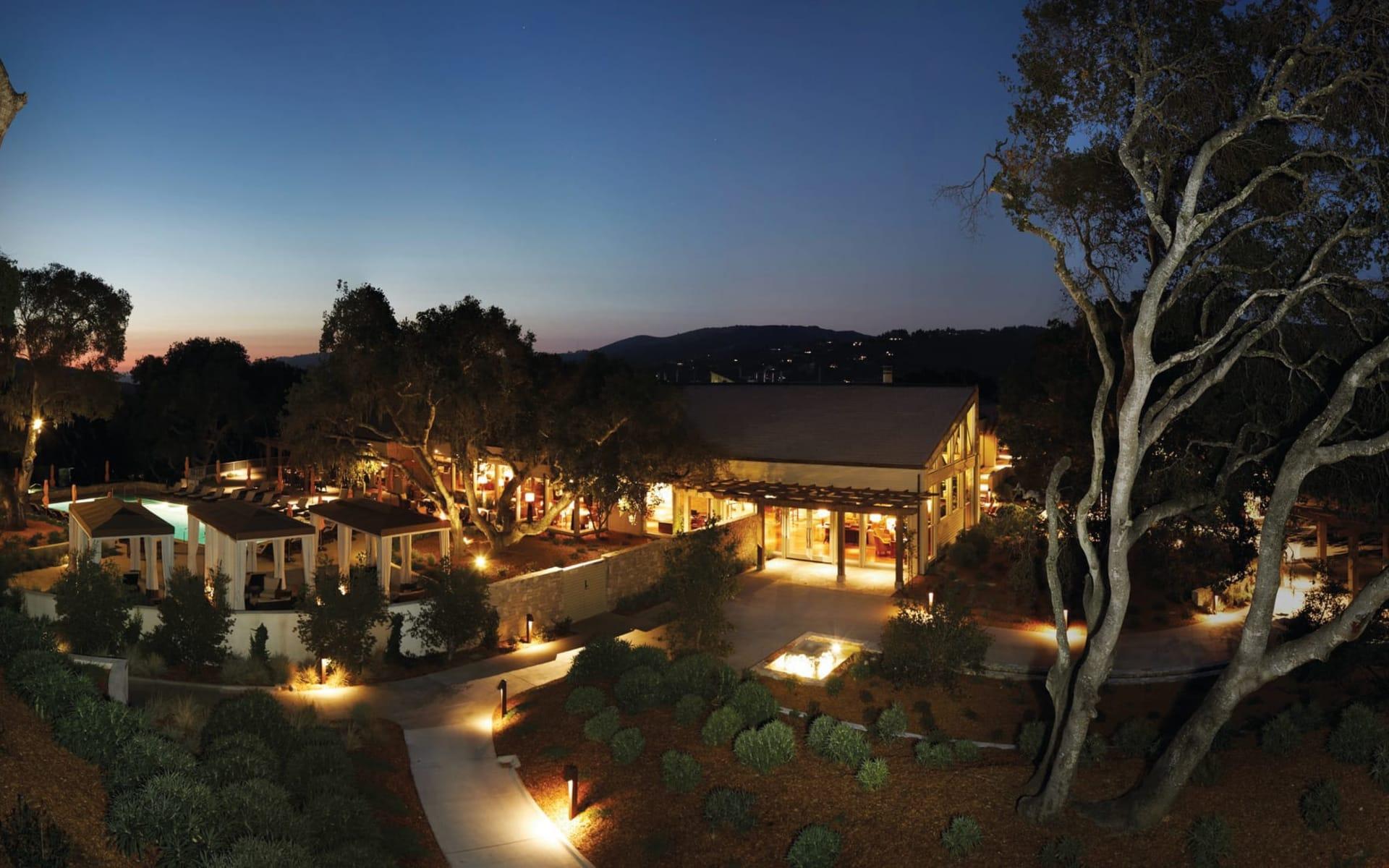 Carmel Valley Ranch: Exterior_Carmel Valley Ranch_Aussenansicht bei Nacht_Bonotel