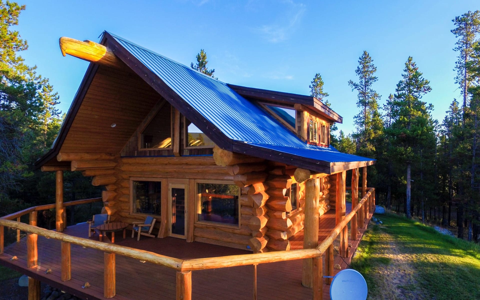 Chilko Experience Wilderness Resort in Tatla Lake: Exterior_Chilko Wilderness Lodge_Aussenansicht 2_Jonview