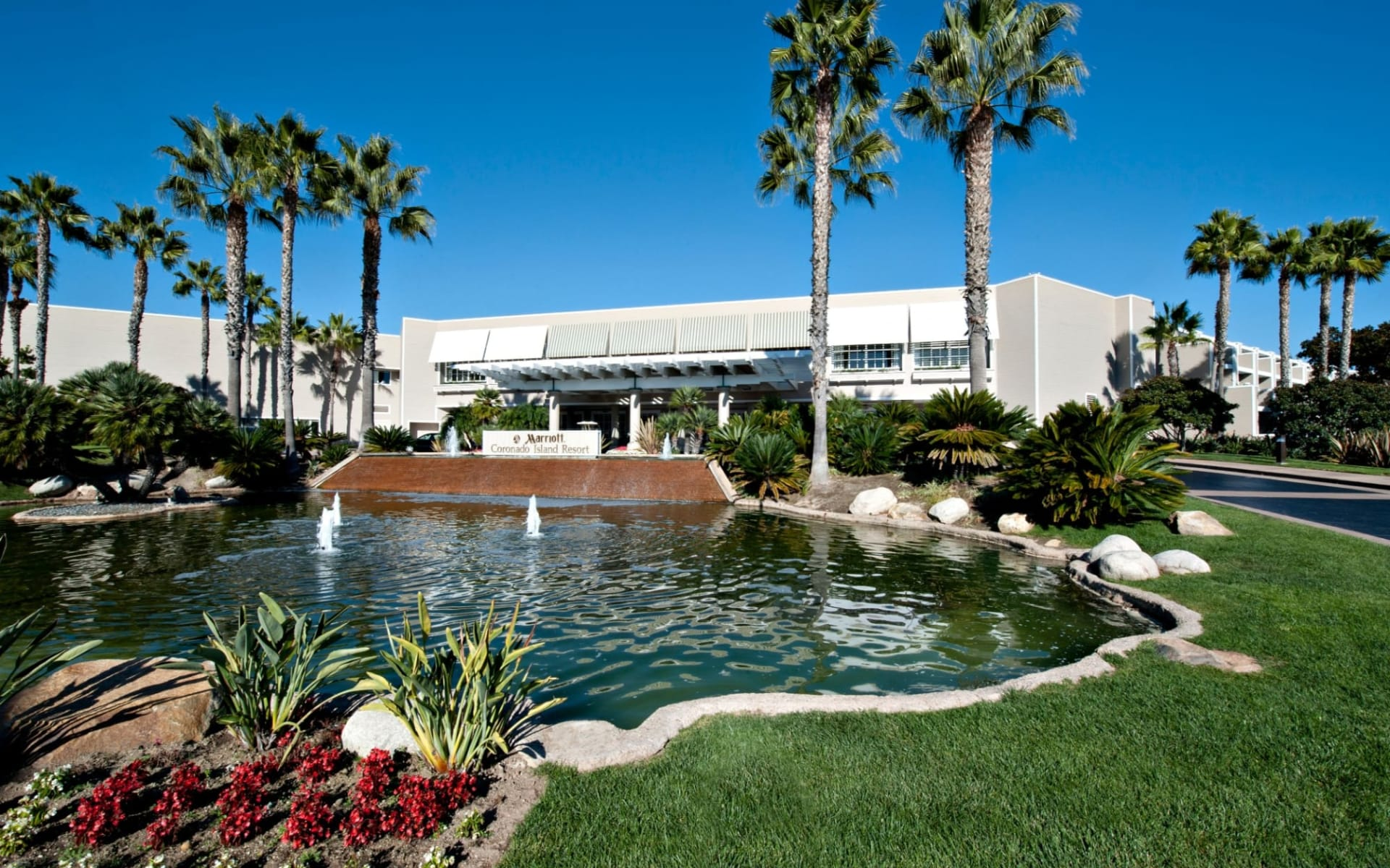Coronado Island Marriott Resort in San Diego: Exterior_Coronado Island Marriott Resort_Aussenansicht_Bonotel