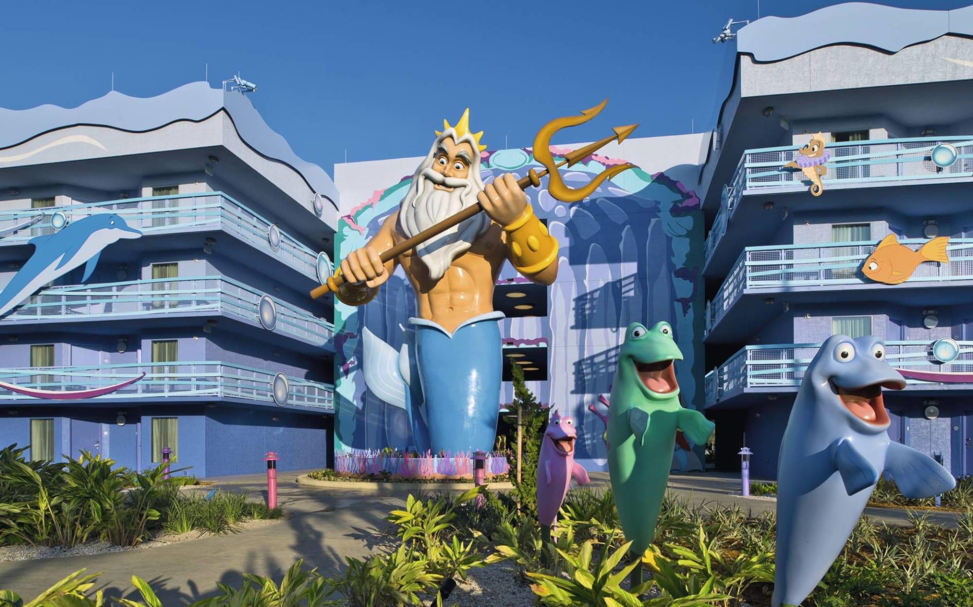 Disney's Art of Animation Resort in Lake Buena Vista: Exterior_Disney's Art of Animation_Aussenansicht_BON