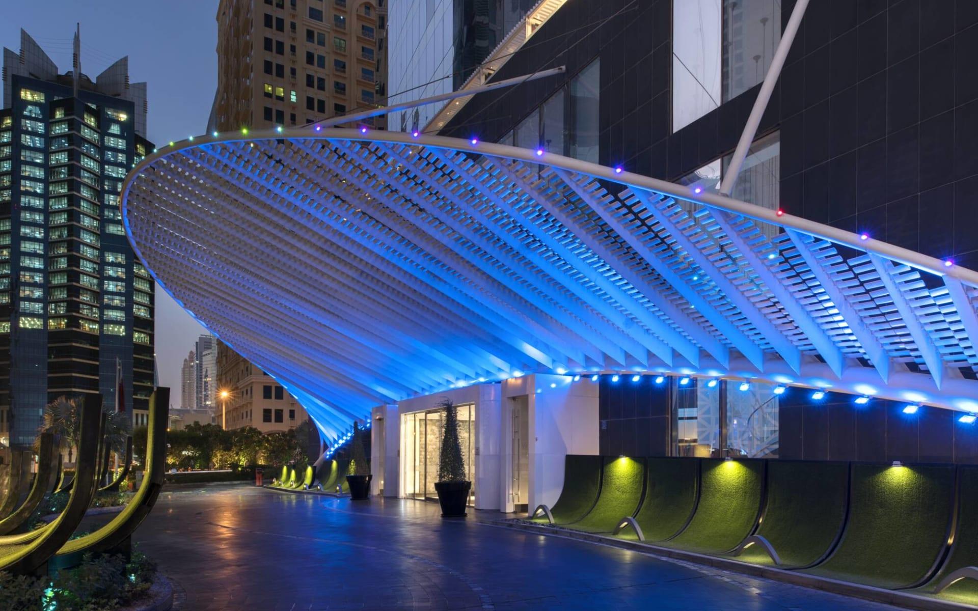 W Hotel Doha:  Entrance-High