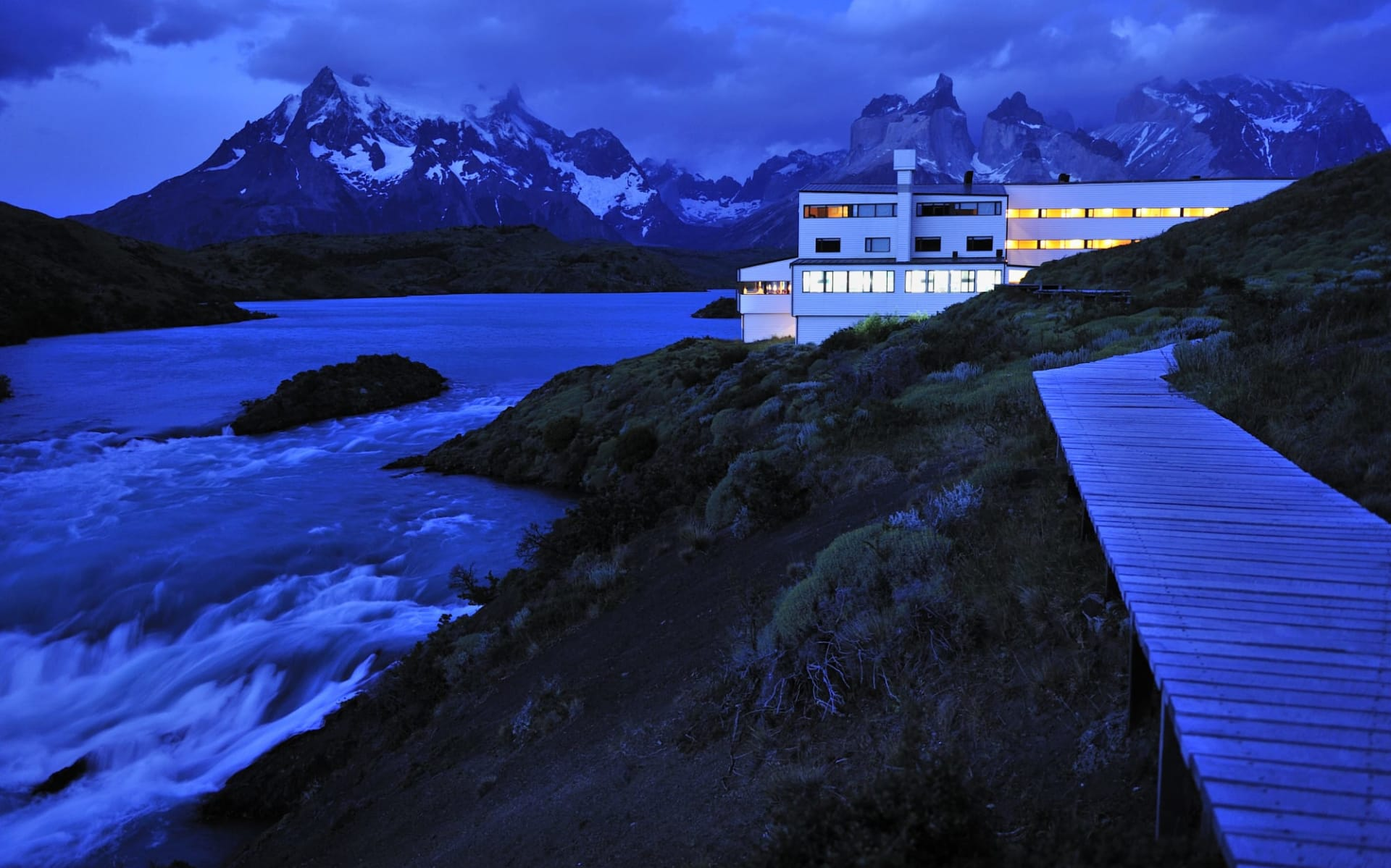 explora Patagonia in Torres del Paine Nationalpark: explora patagonia - Nacht