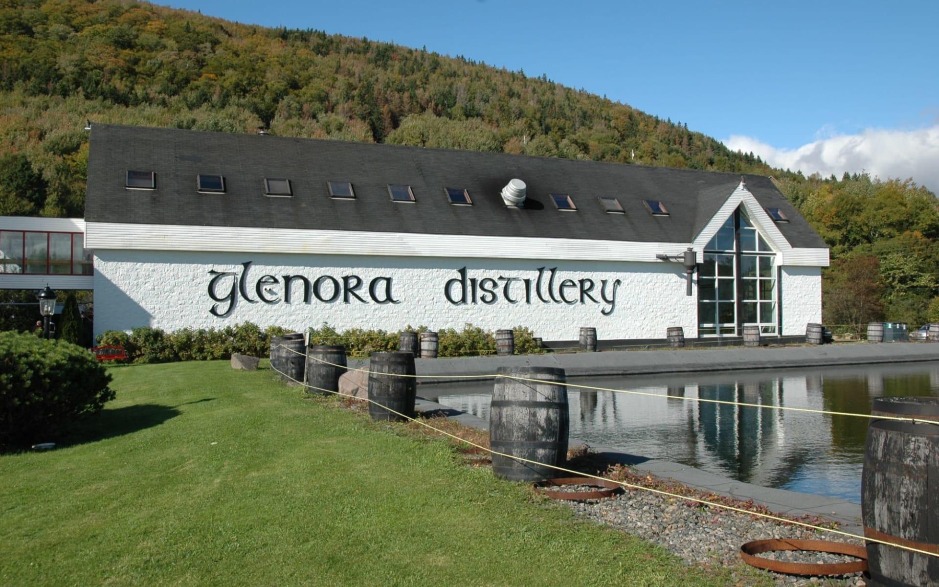 Glenora Inn & Distillery in Mabou: Aussenansicht