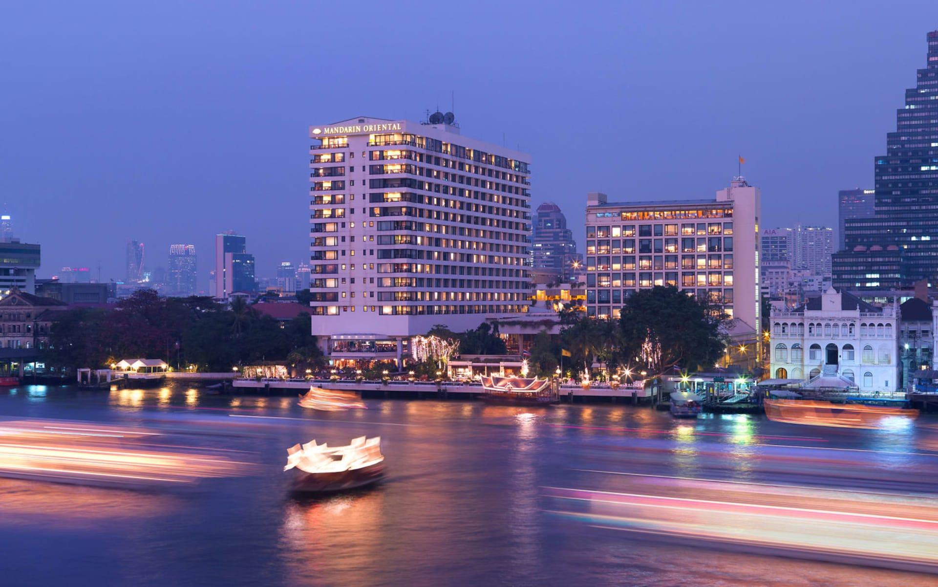 Mandarin Oriental in Bangkok: Exterior