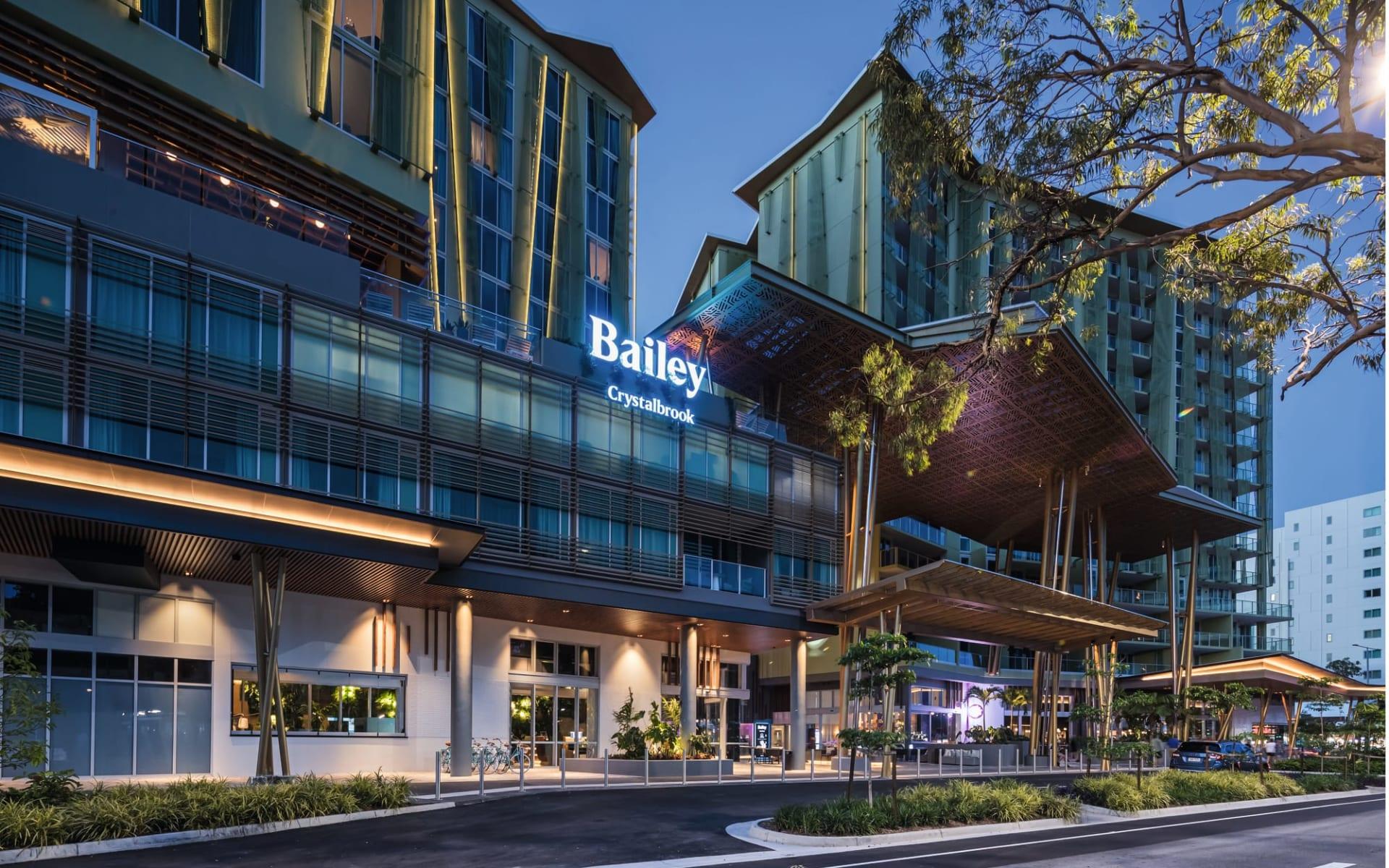 Bailey in Cairns:  Exterior Australien Queensland Cairns Bailey Hotel von aussen 2019