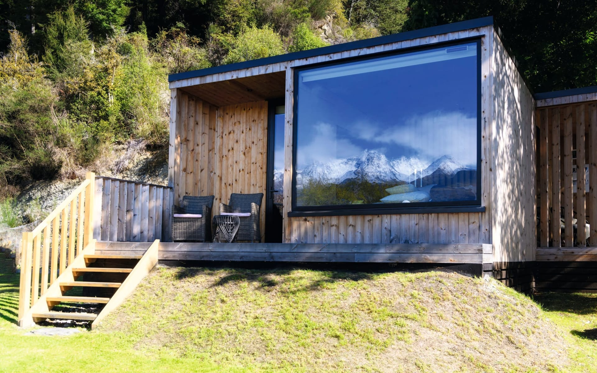 Ecoscapes in Glenorchy:  Exterior EcoScape -McLennan_KinlochLodge_049