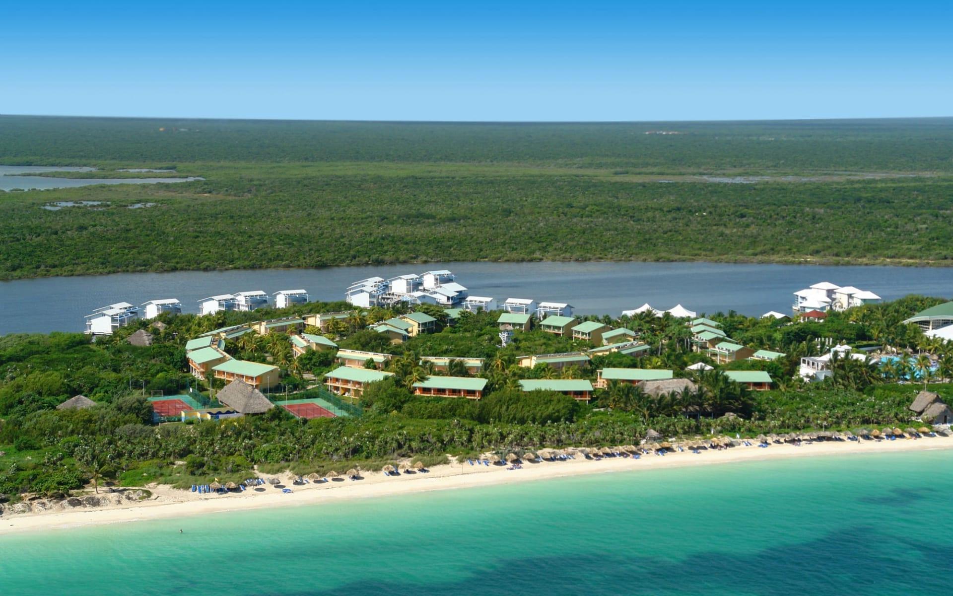 Melia Cayo Coco:  Exterior Melia Cayo Coco Kuba - Vogelperspektive C Melia Hotels