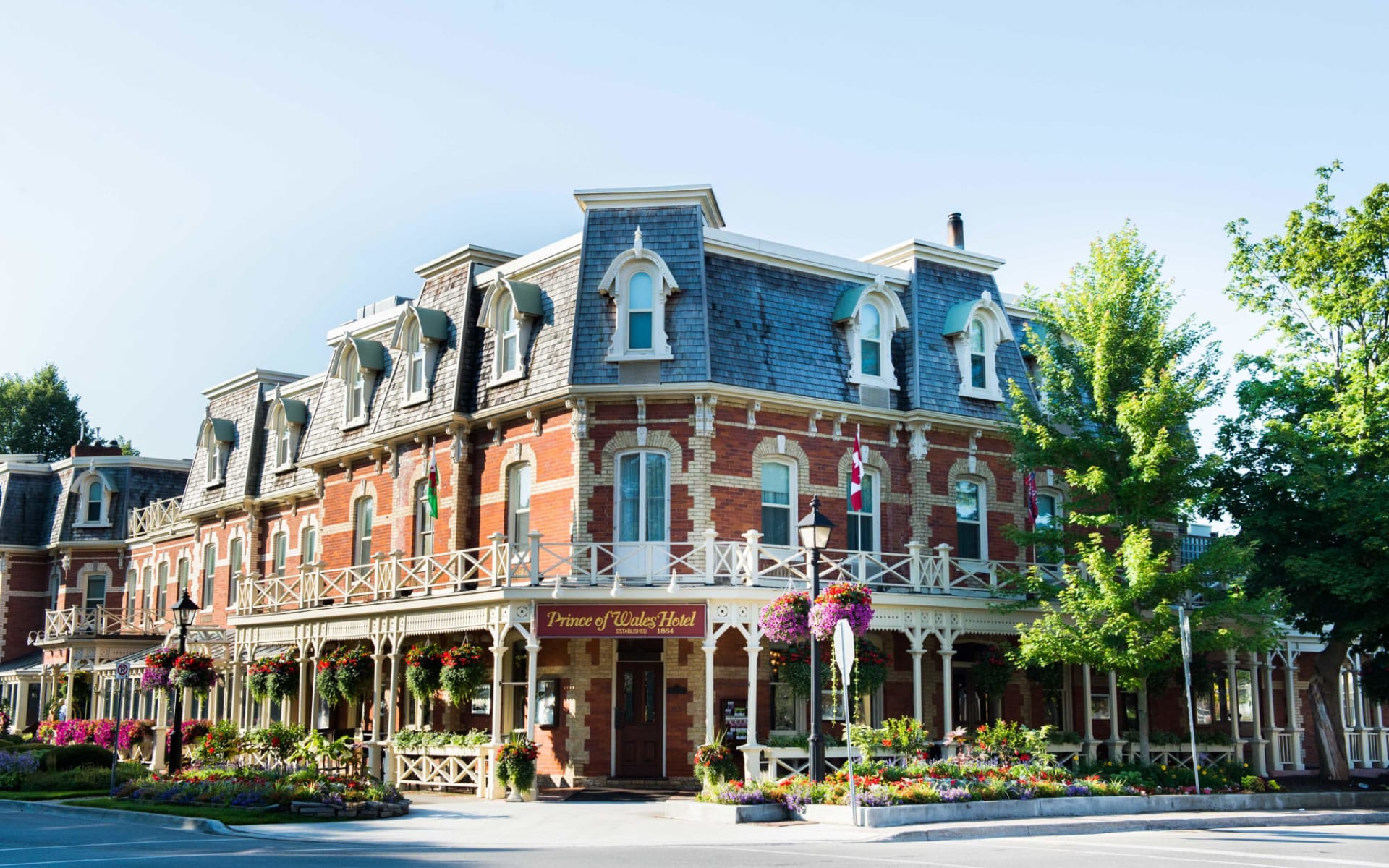 Prince of Wales in Niagara on the Lake: Aussenansicht