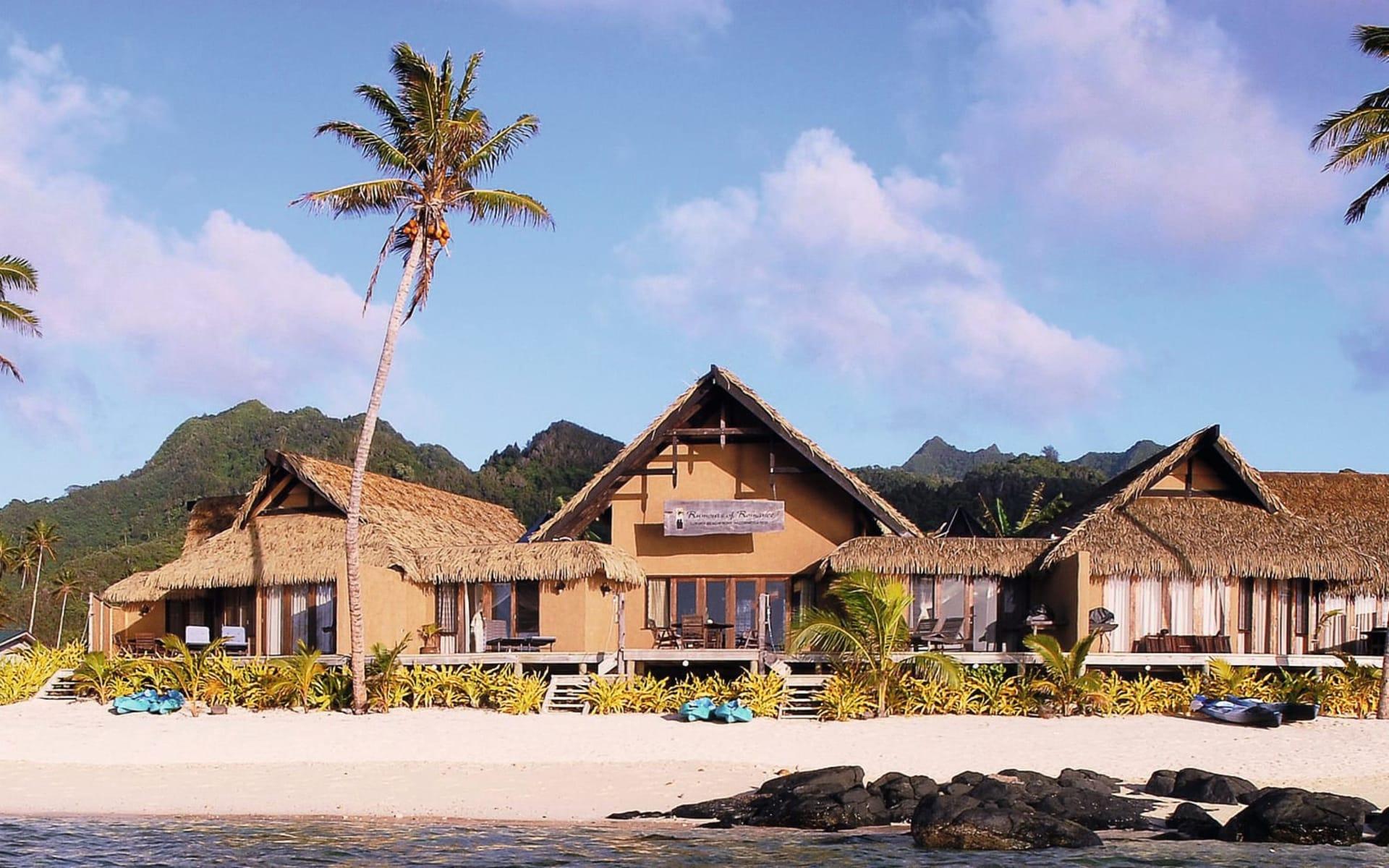 Rumours Luxury Villas and Spa in Rarotonga:  exterior Rumours Luxury Villas - Villas von aussen