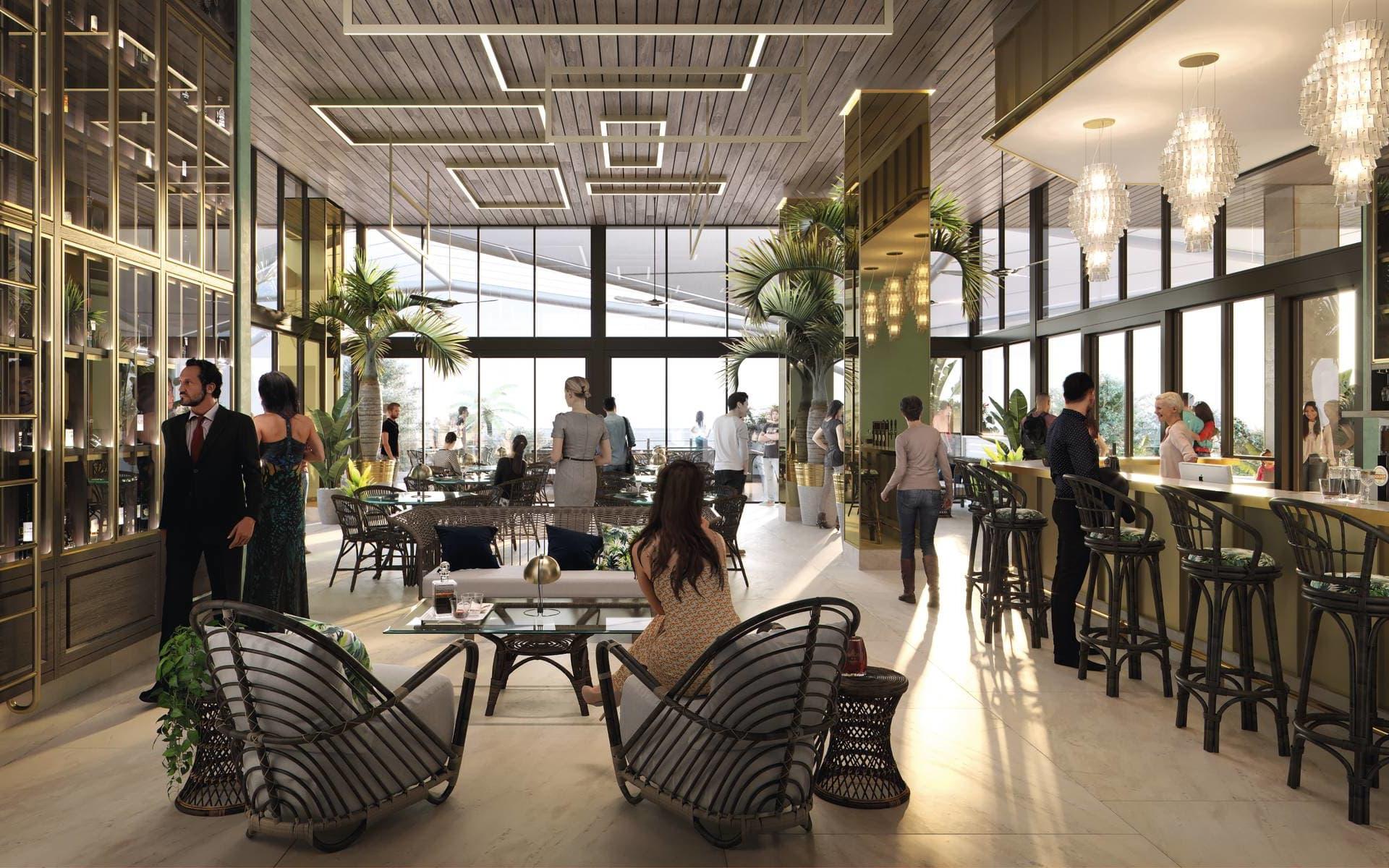 Flynn in Cairns:  Facilities Australien Queensland Flynn Whiskey and Wine Bar 2019