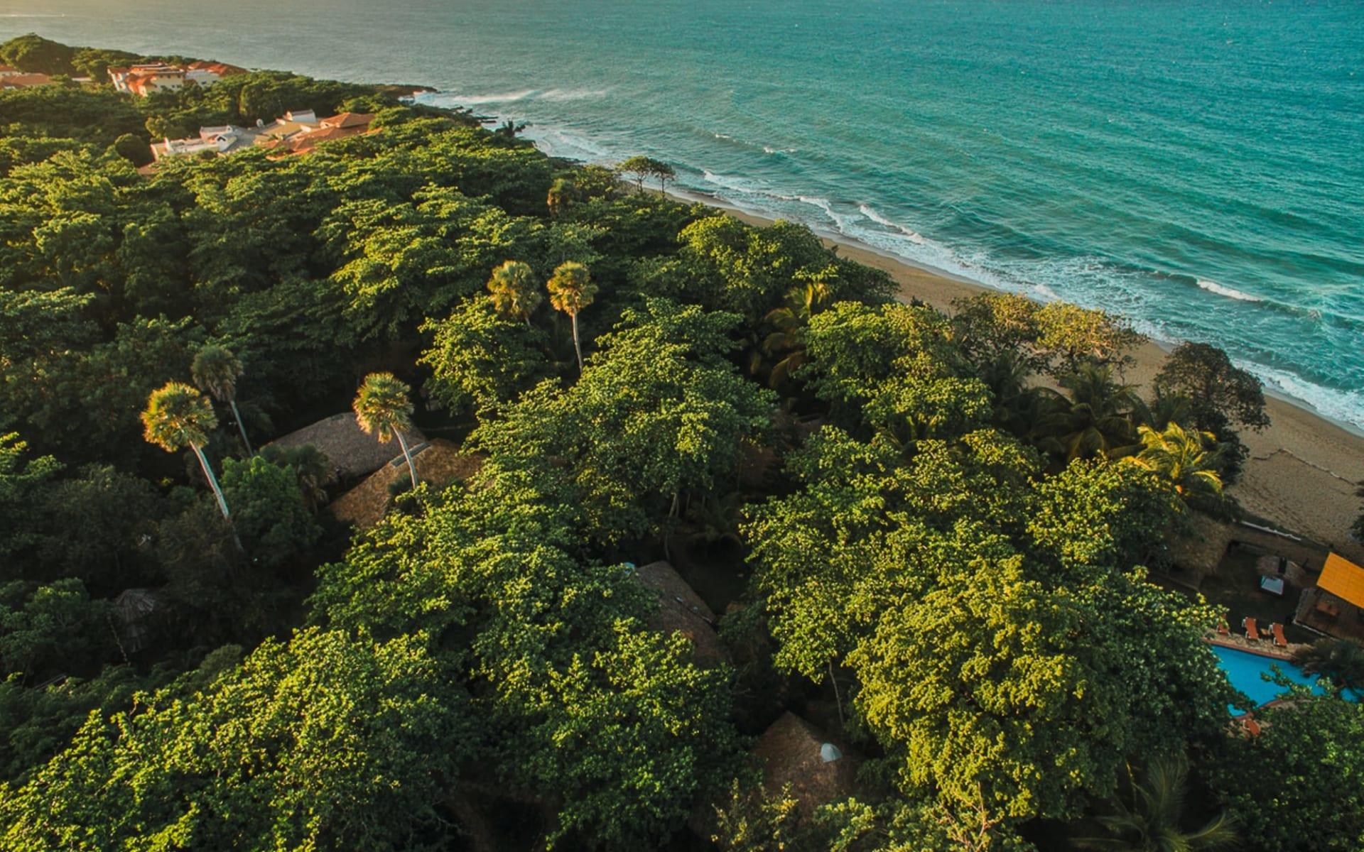 Natura Cabaña in Cabarete: exterior Forest Ocean Natura Cabana - Exterior View cLatinconnect