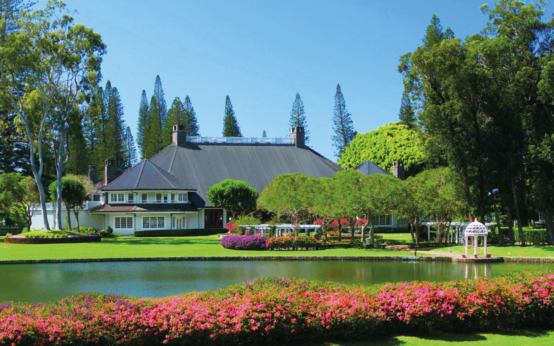 Four Seasons Lanai Resort, The Lodge at Koele:  Four Seasons Lanai Resort, The Lodge at Koele - Aussenansicht