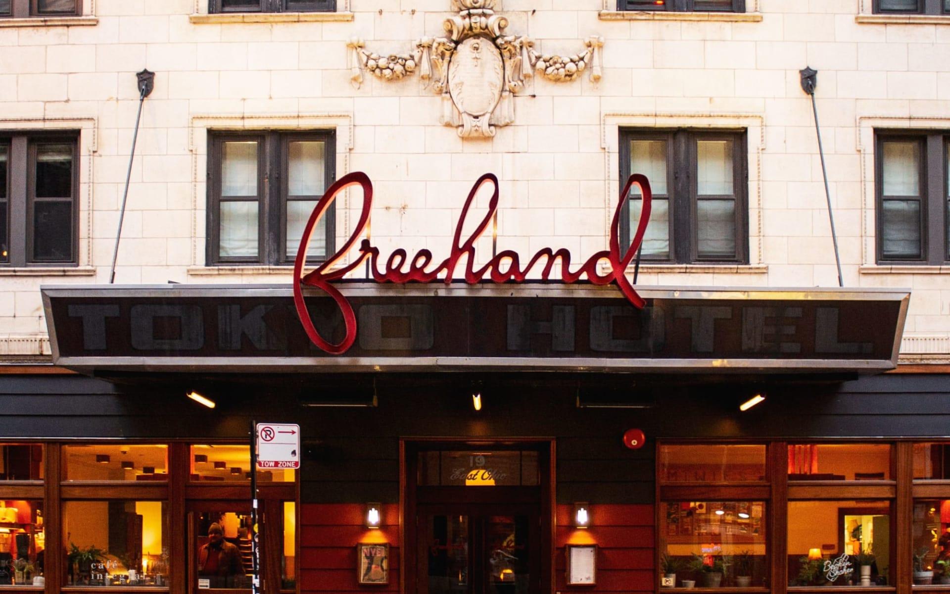 Freehand Hotel in Chicago:  Freehand CHI - Aussenansicht_BON