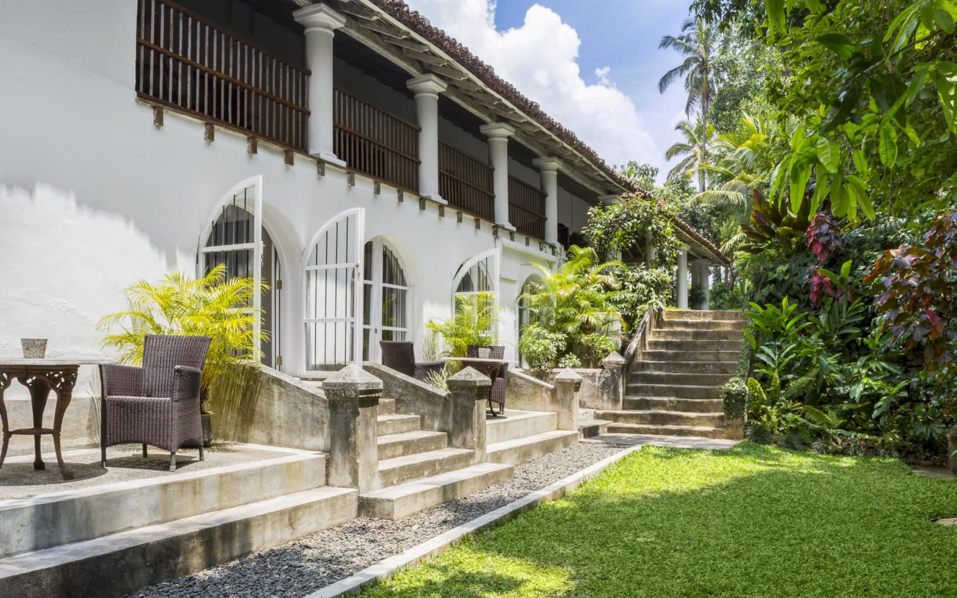 Kandy House: Garden