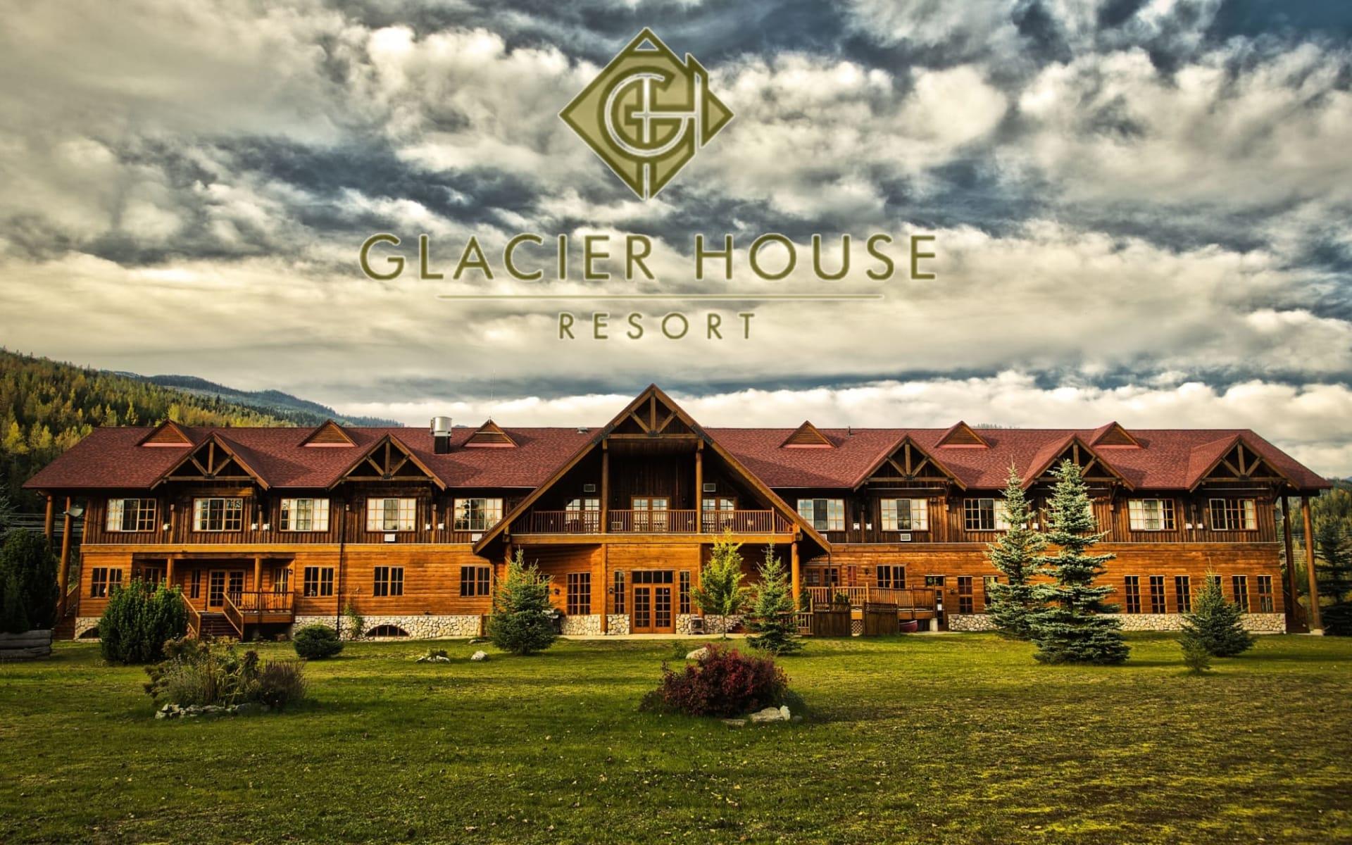 Glacier House Resort in Revelstoke:  Glacier House Resort_Summer