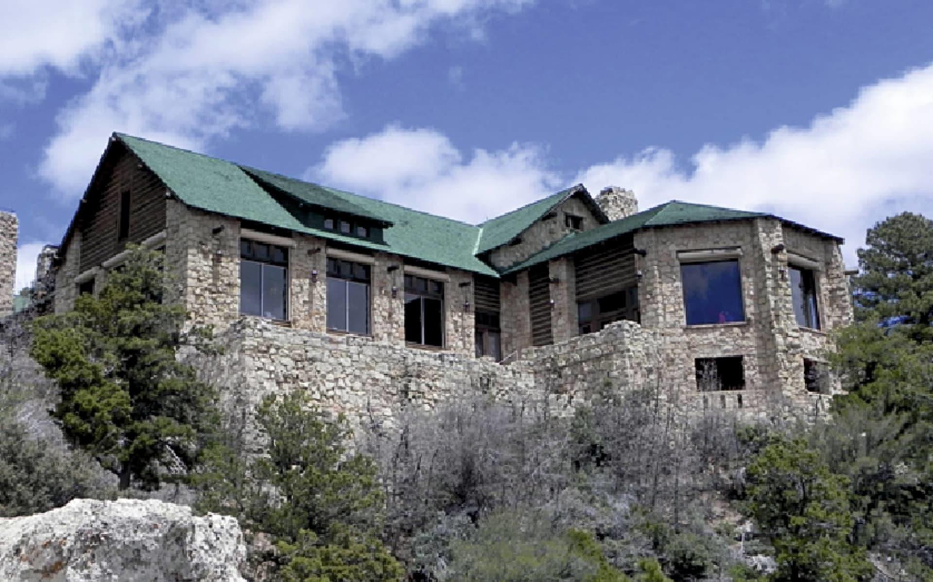 Grand Canyon Lodge North Rim in Grand Canyon Nationalpark: exterior grand canyon lodge north rim steinhaus