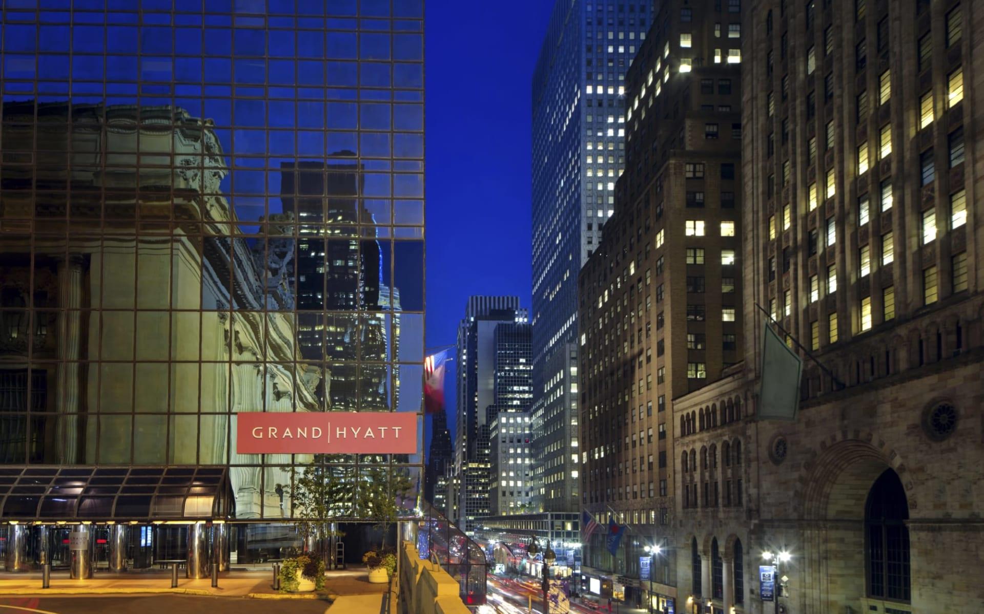 Grand Hyatt New York in New York - Manhattan: Grand Hyatt NYC - Night
