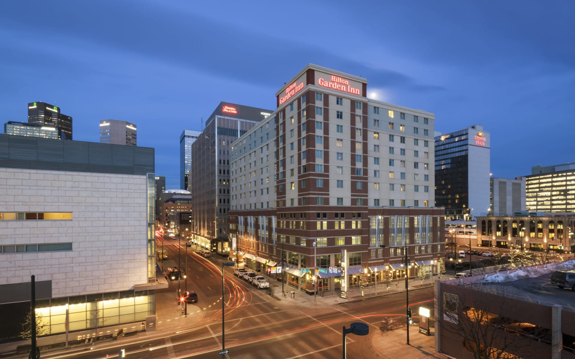 Hilton Garden Inn Denver Downtown:  Hilton Garden Inn Denver Downtown - Exterior