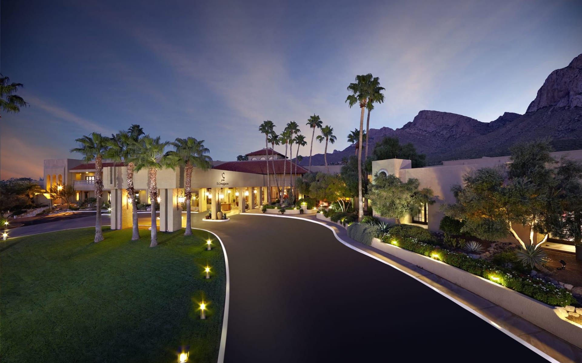 Hilton Tucson el Conquistador Resort:  Hilton Tucson el Conquistador Resort - Einfahrt