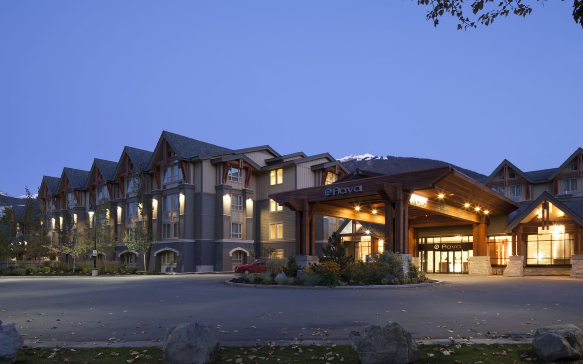 Aava Whistler Hotel:  Hotel Aava_EntranceArea