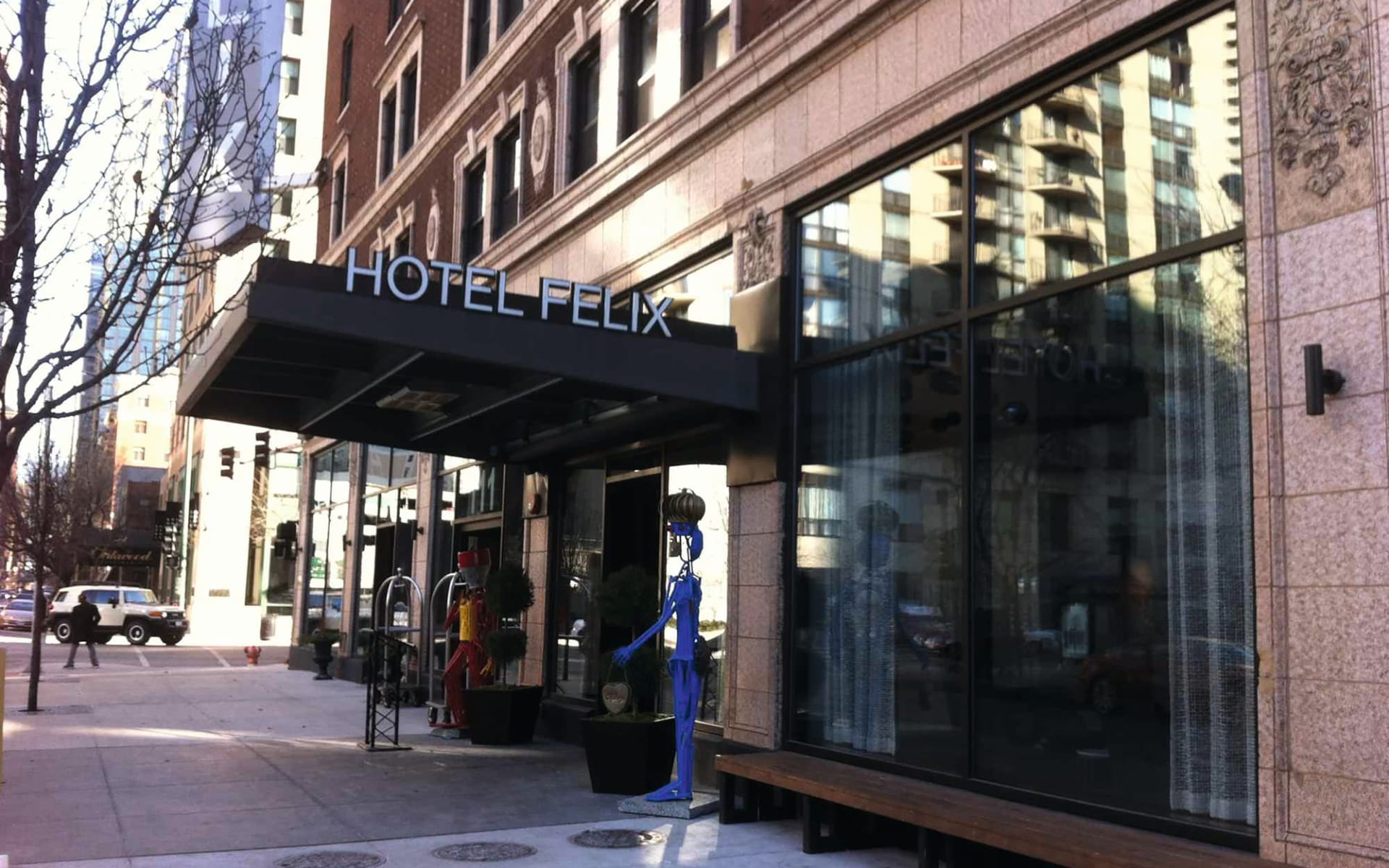 Hotel Felix in Chicago:  Hotel Felix_Aussenansicht_nicht für Internet verwenden