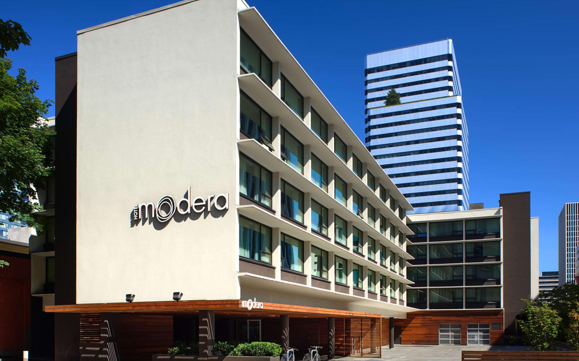 The Hotel Zags in Portland:  Hotel Modera_Aussenansicht_ATI