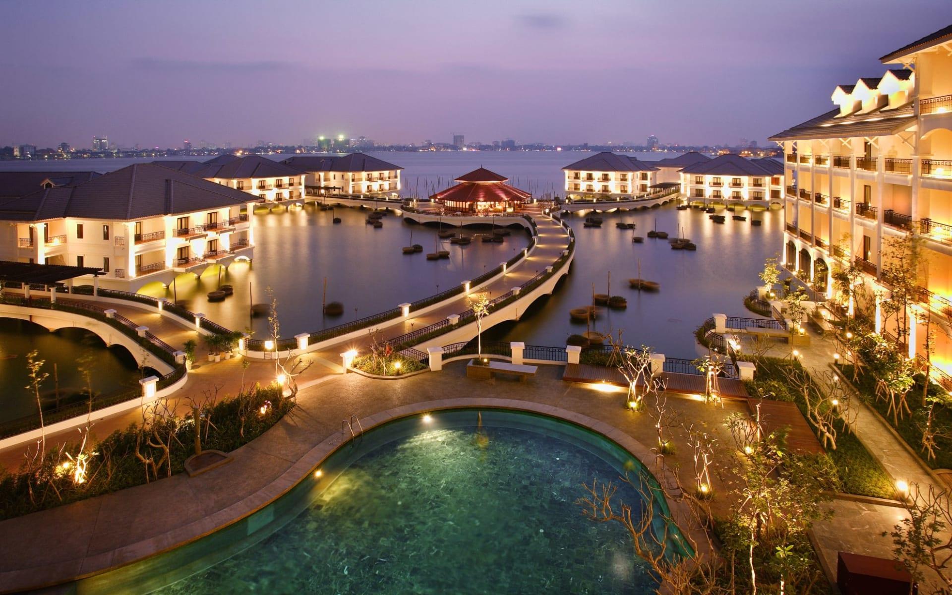 InterContinental Hanoi Westlake: Hotel View