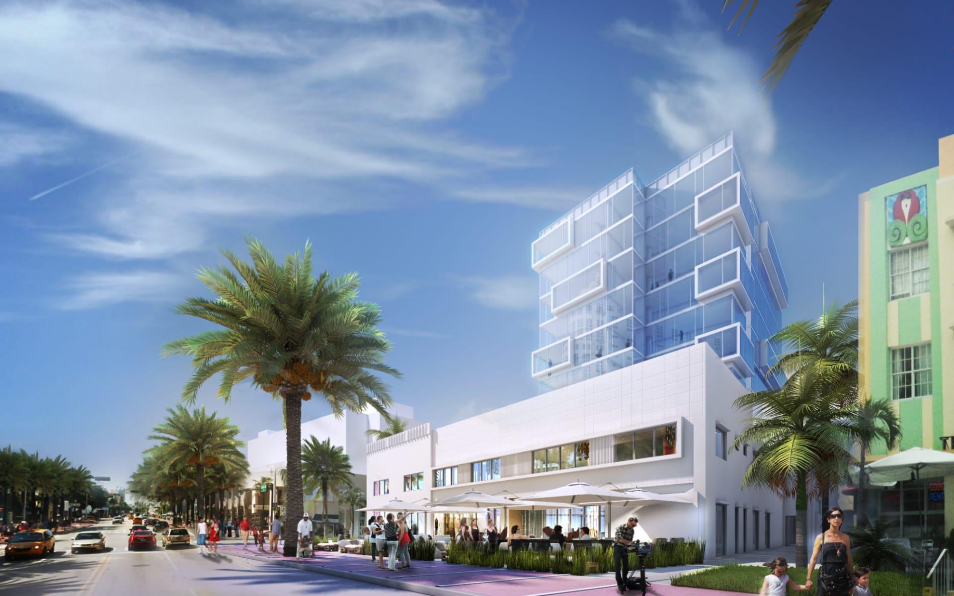 Hyatt Centric South Beach in Miami Beach:  Hyatt Centric South Beach - Aussenansicht