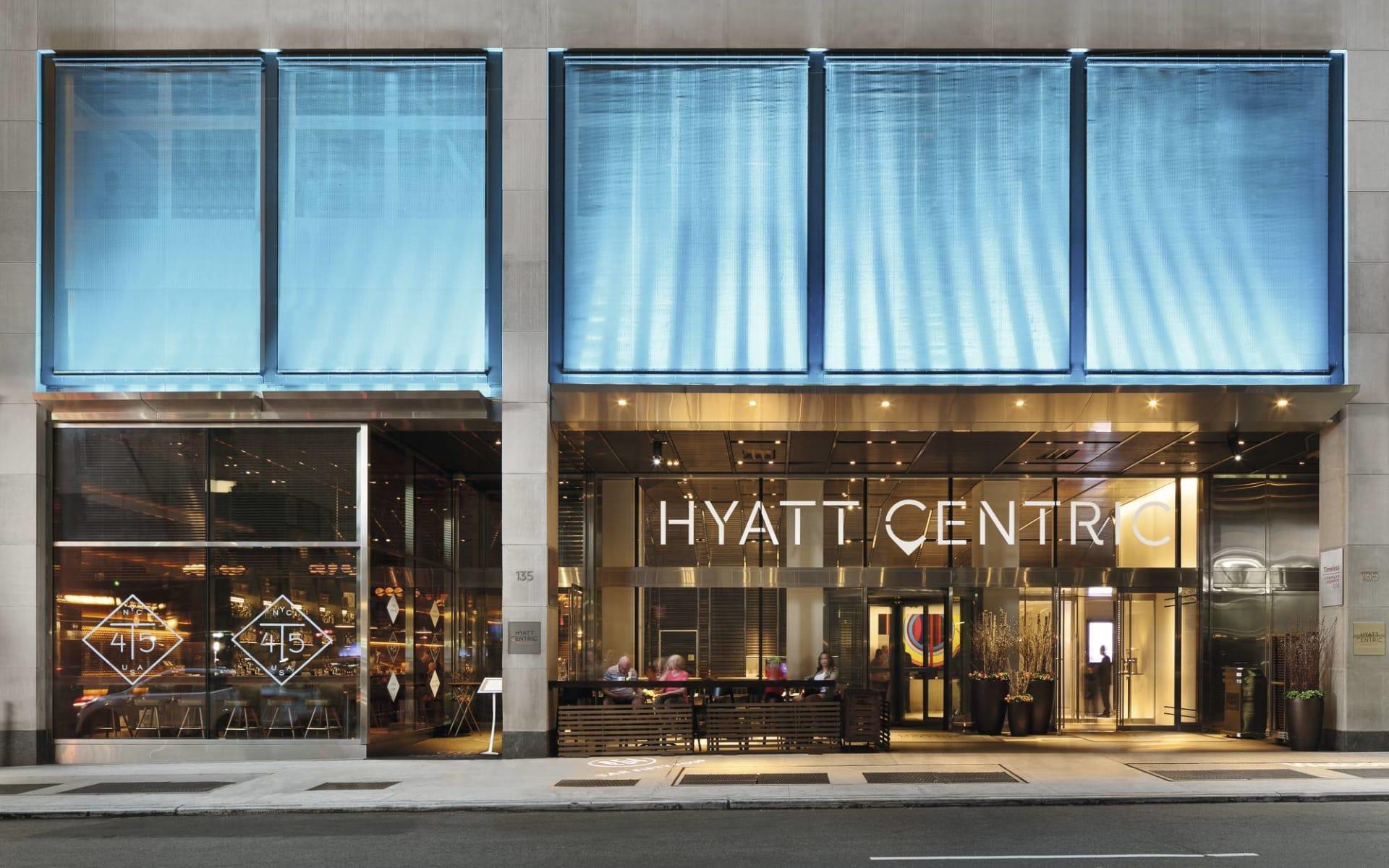 Hyatt Centric Times Square in New York - Manhattan: Hyatt Centric Times Square - eingang
