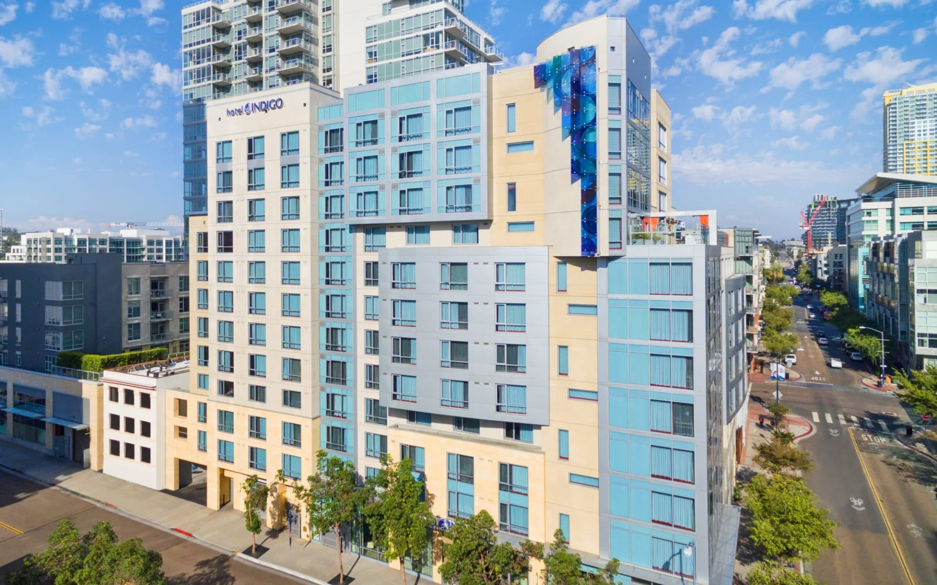 Hotel Indigo San Diego-Gaslamp Quarter:  Indigo SAN_Aussenansicht