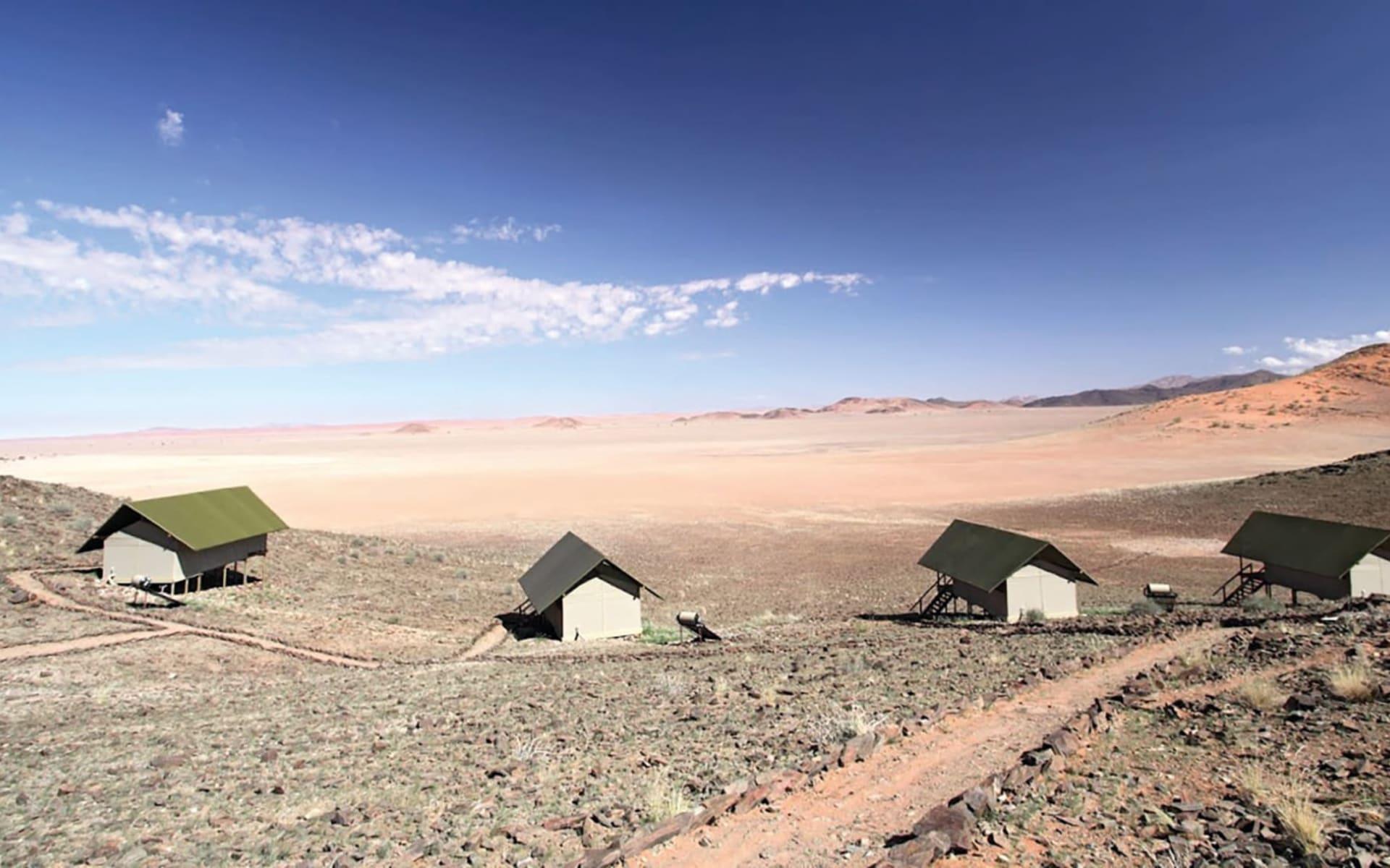 Kanaan Naankuse Desert Retreat in NamibRand Nature Reserve: Kanaan Naankuse Desert Retreat - Bungalows in der Wueste